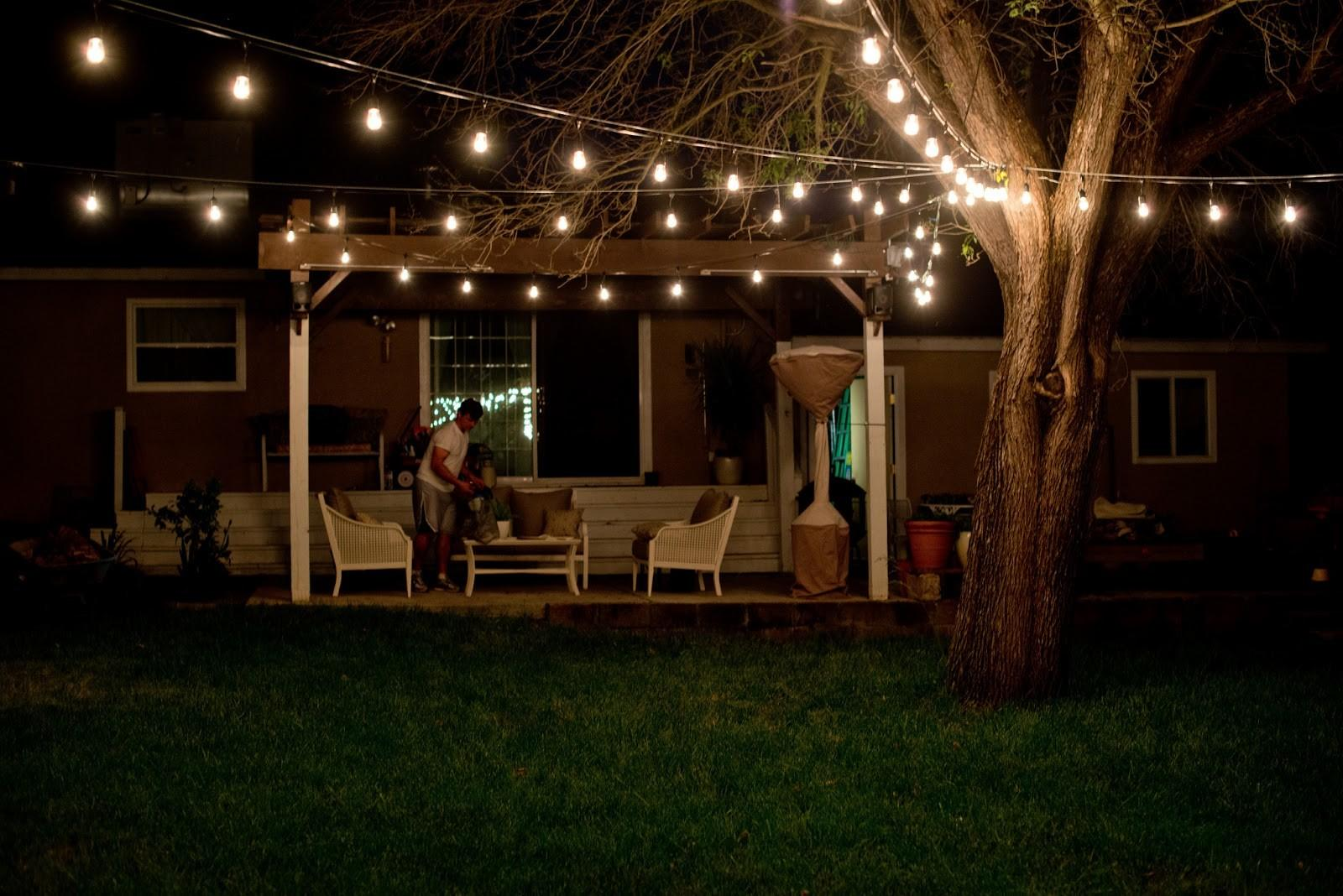 Outdoor Party Lighting Ideas All Lighted