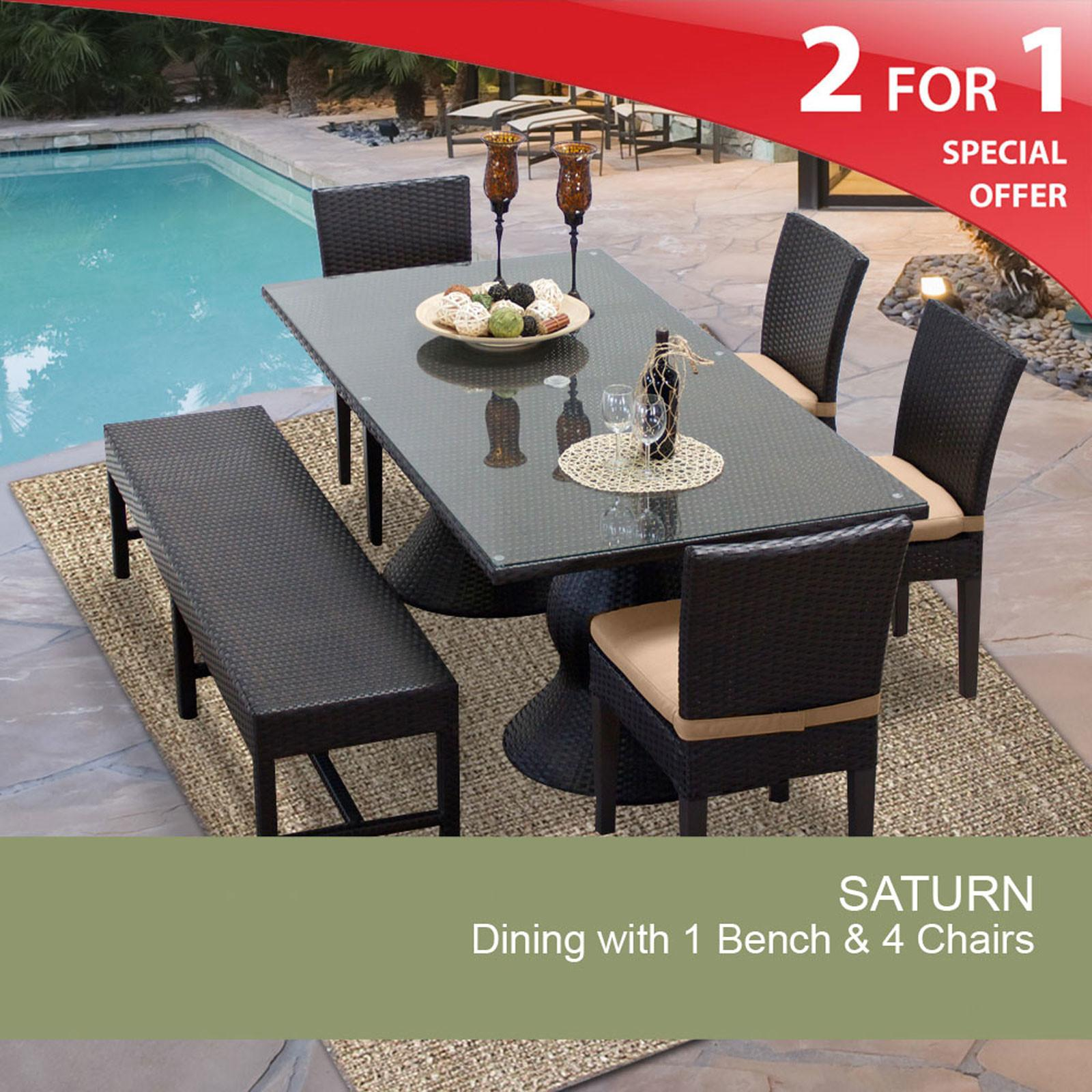 Outdoor Patio Dining Furniture Sets Benches