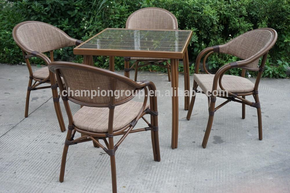 Outdoor Patio Furniture New Design Bamboo Style Chair
