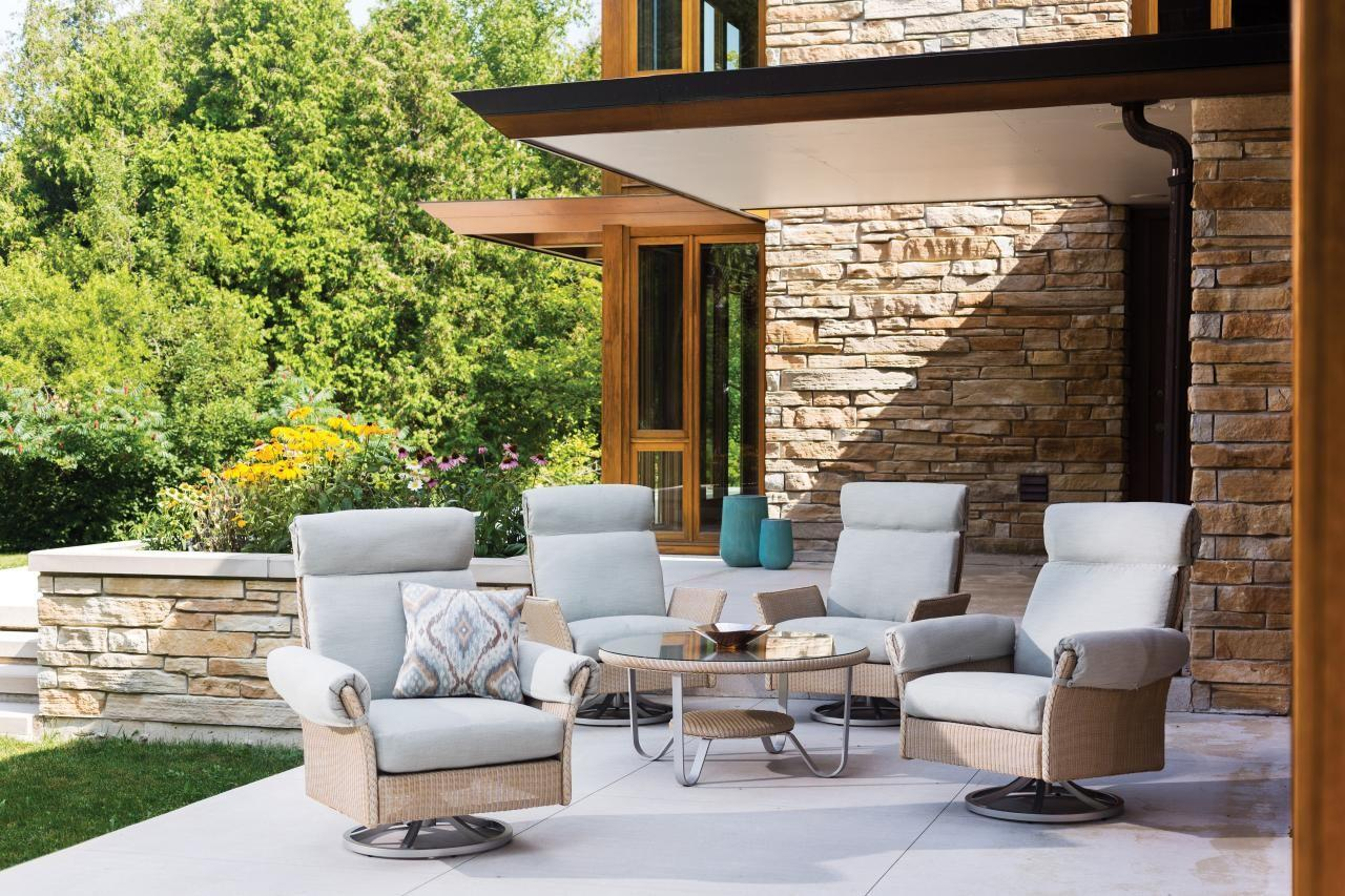Outdoor Patio Furniture Options Ideas