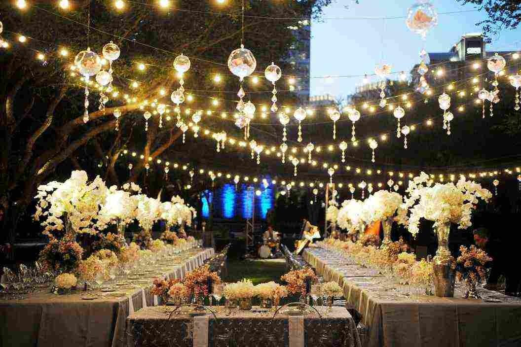Outdoor Patio Hanging String Lights Decor Ideasdecor Ideas
