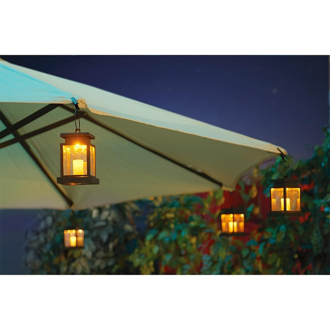 Outdoor Patio Umbrella Lights Furniture