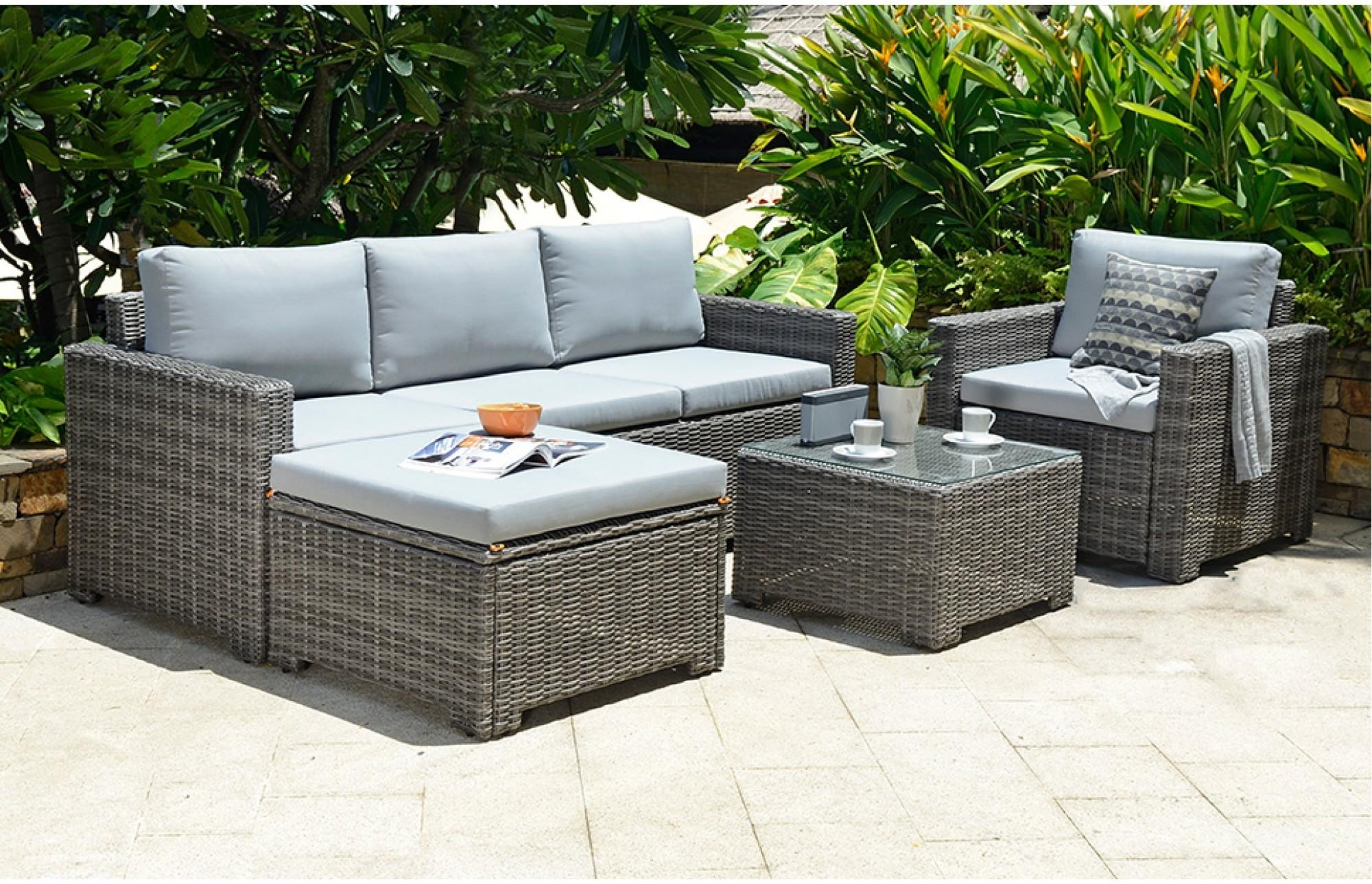 Outdoor Patio Wicker Furniture Pool Lounge All Weather