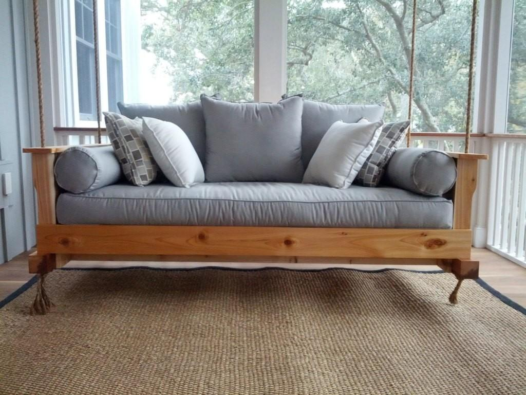 Outdoor Porch Beds Make Nature Naps Worth