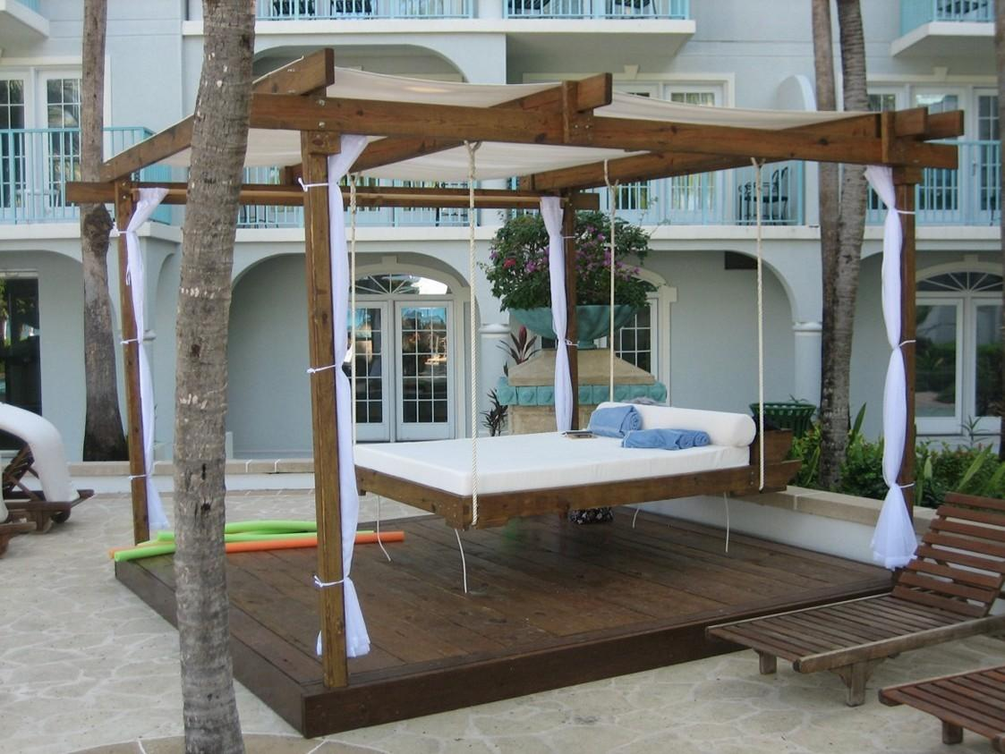 Outdoor Porch Swing Bed