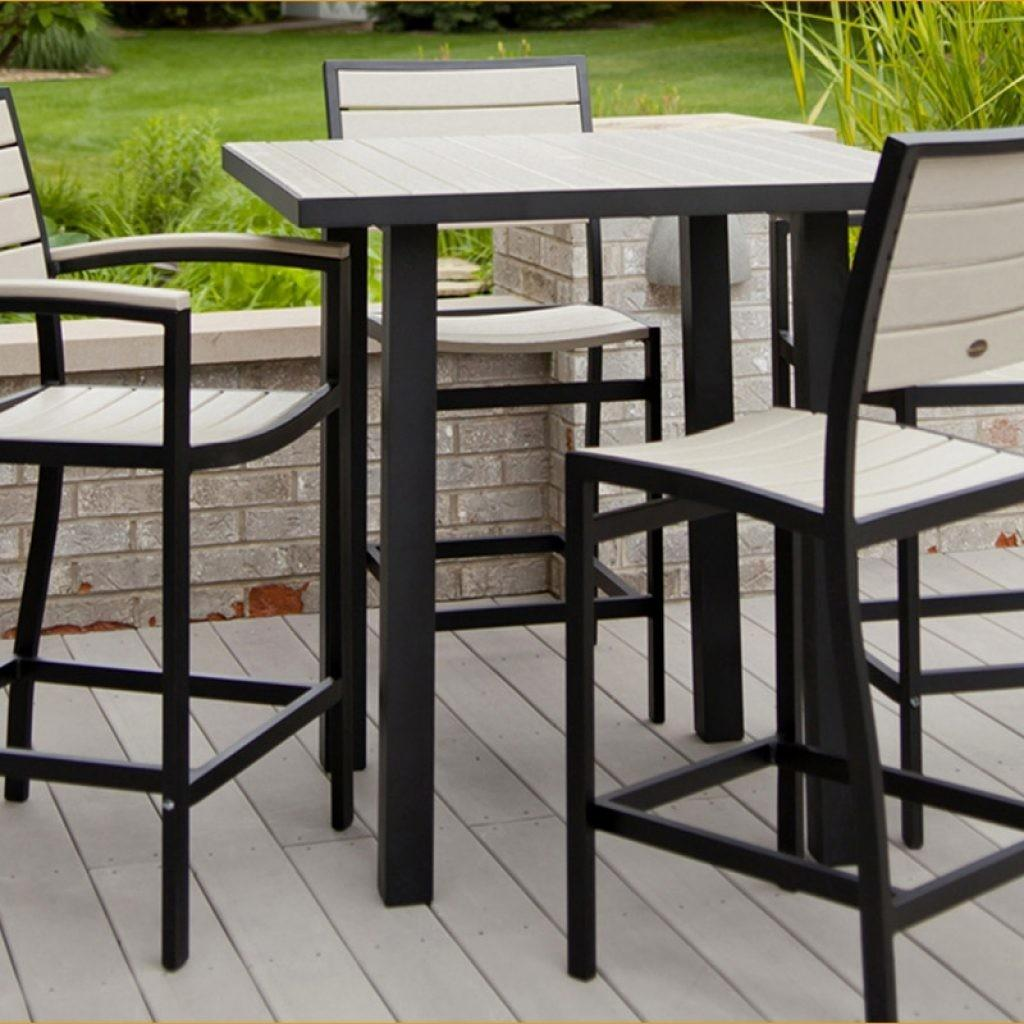 Outdoor Pub Style Patio Furniture