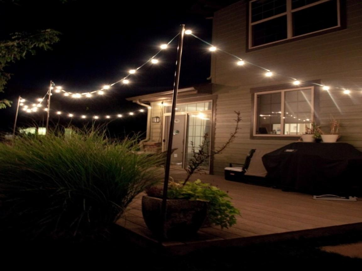 Outdoor Residential Lighting Fixtures String