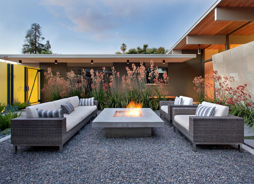 Outdoor Seating Fire Pit Fireplace Design Ideas
