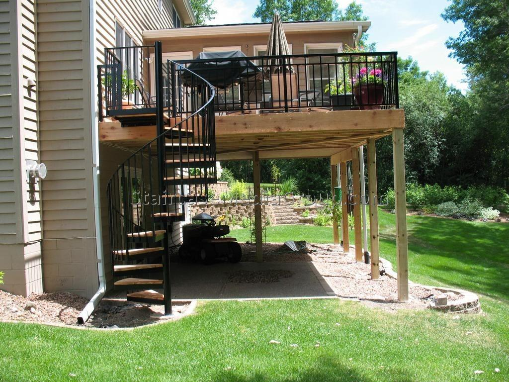 Outdoor Spiral Staircase Best Ideas Design