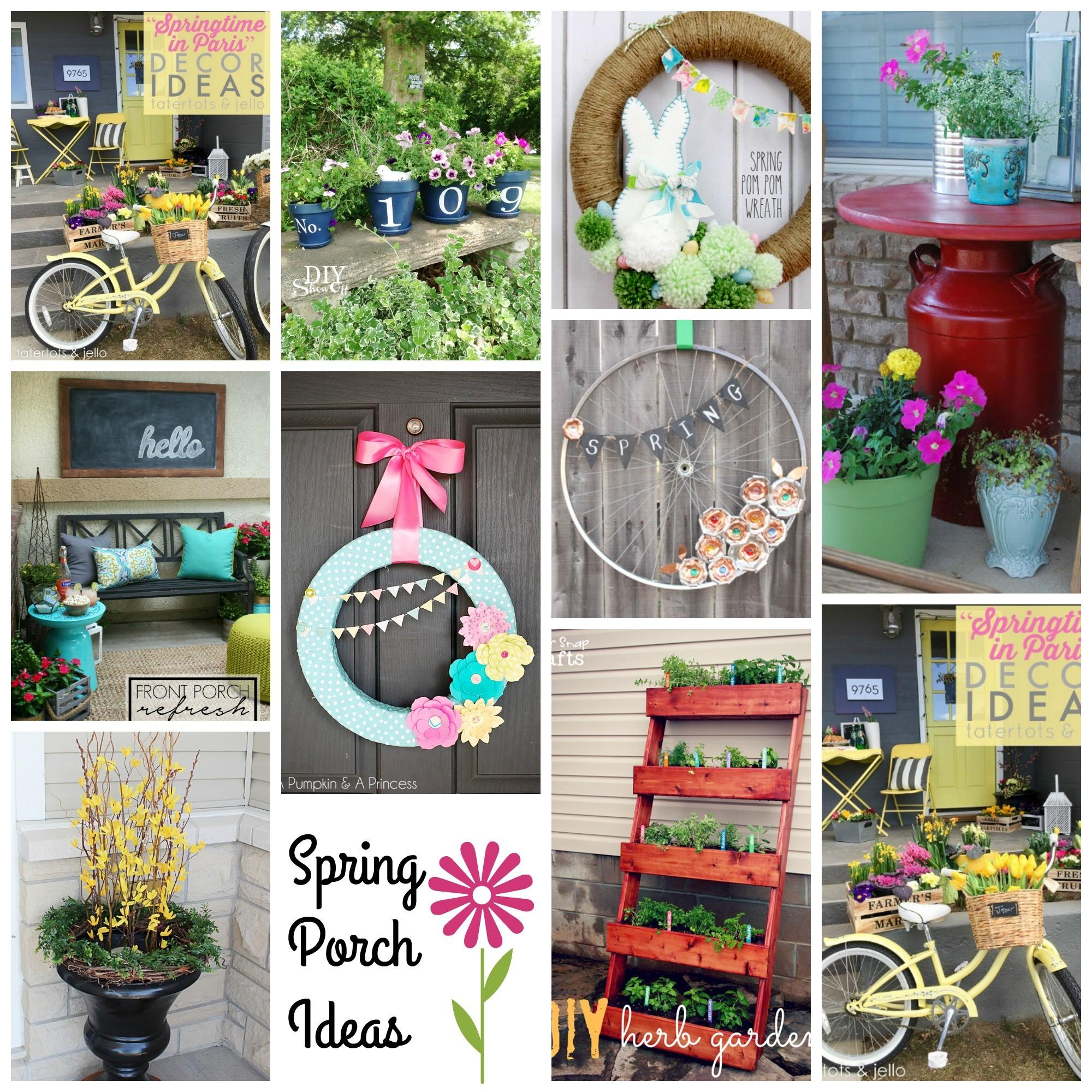 Outdoor Spring Decorating Ideas Inspiration Diy