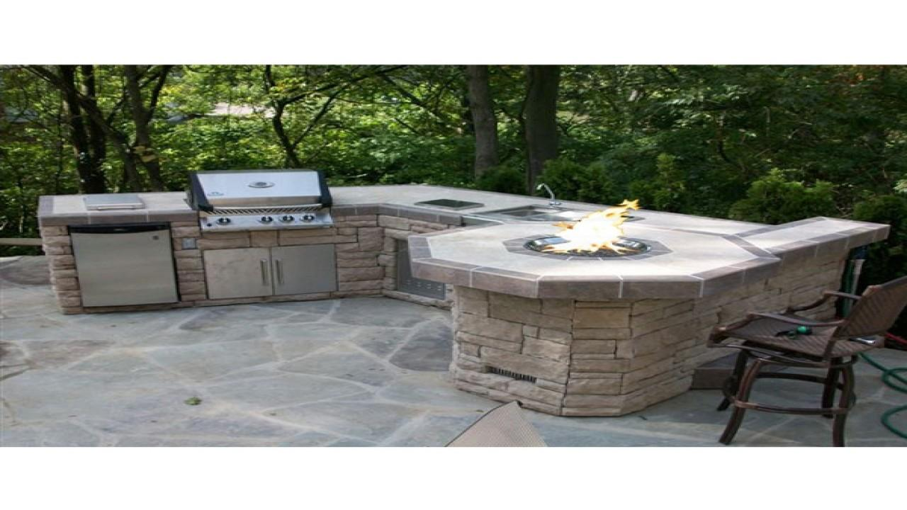 Outdoor Stone Grills Bbq Grill Designs