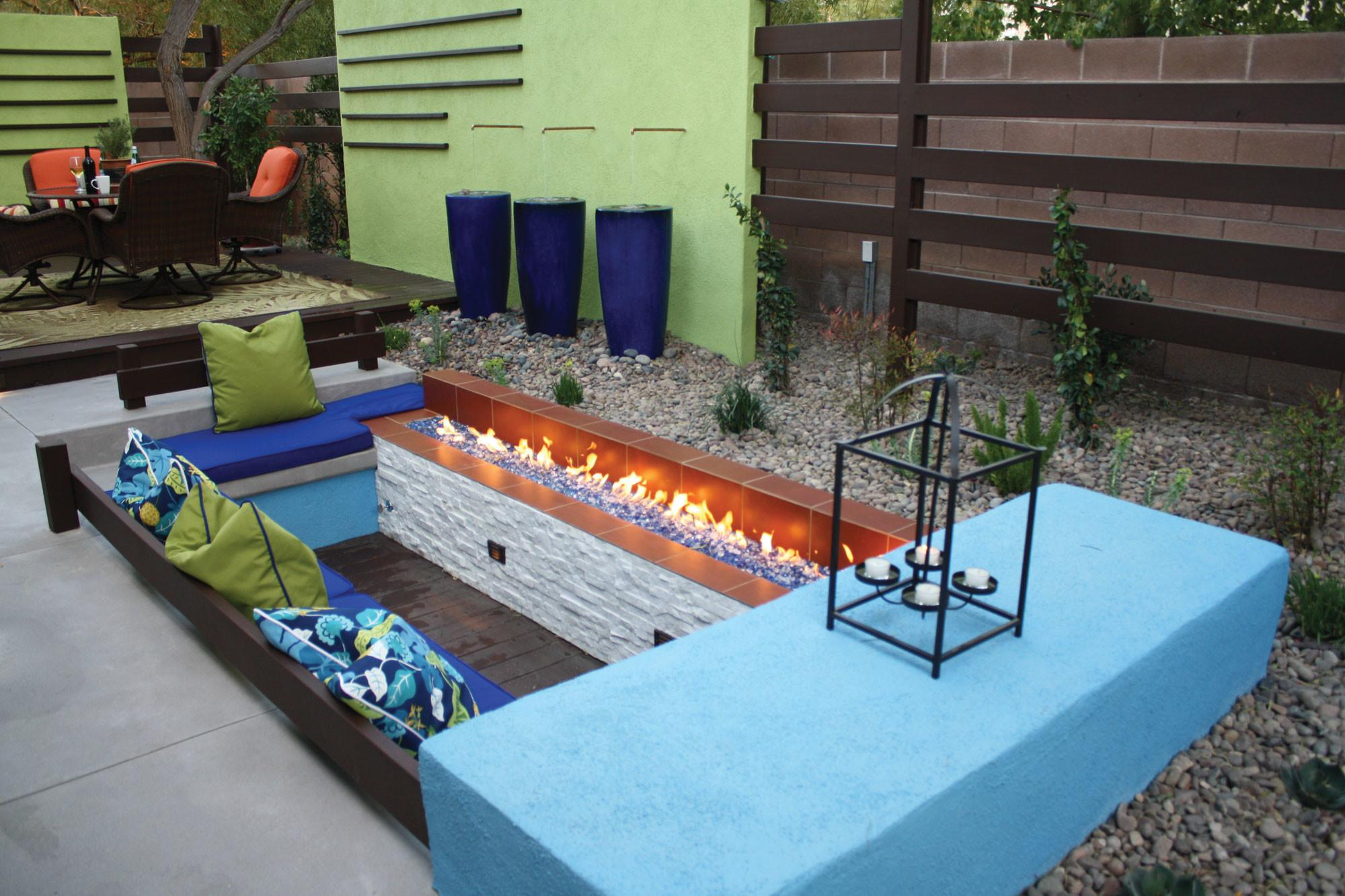 Outdoor Sunken Space Ideas Decozilla