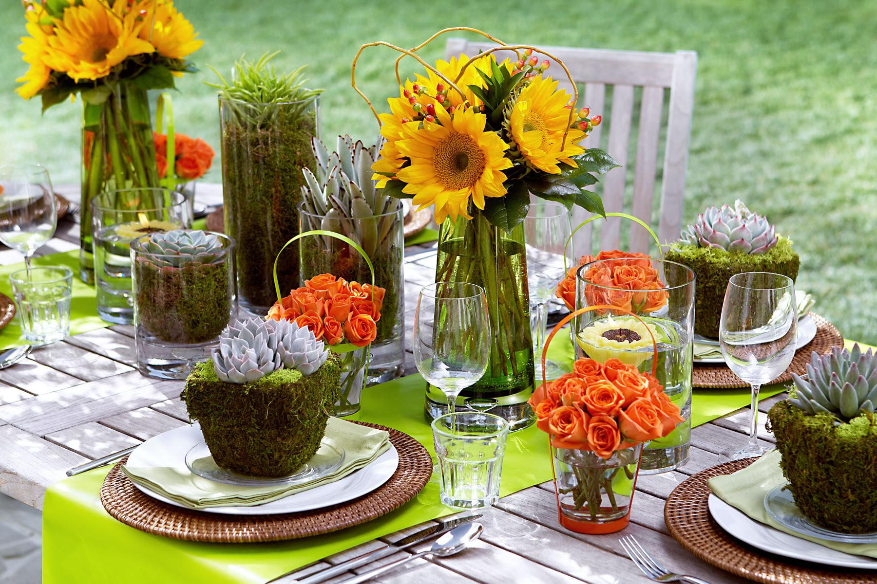 Outdoor Table Setting Product