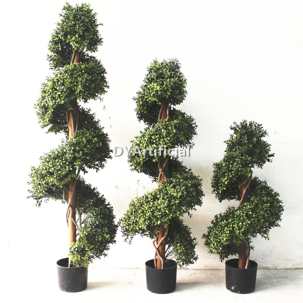 Outdoor Topiary Trees 100 Artificial