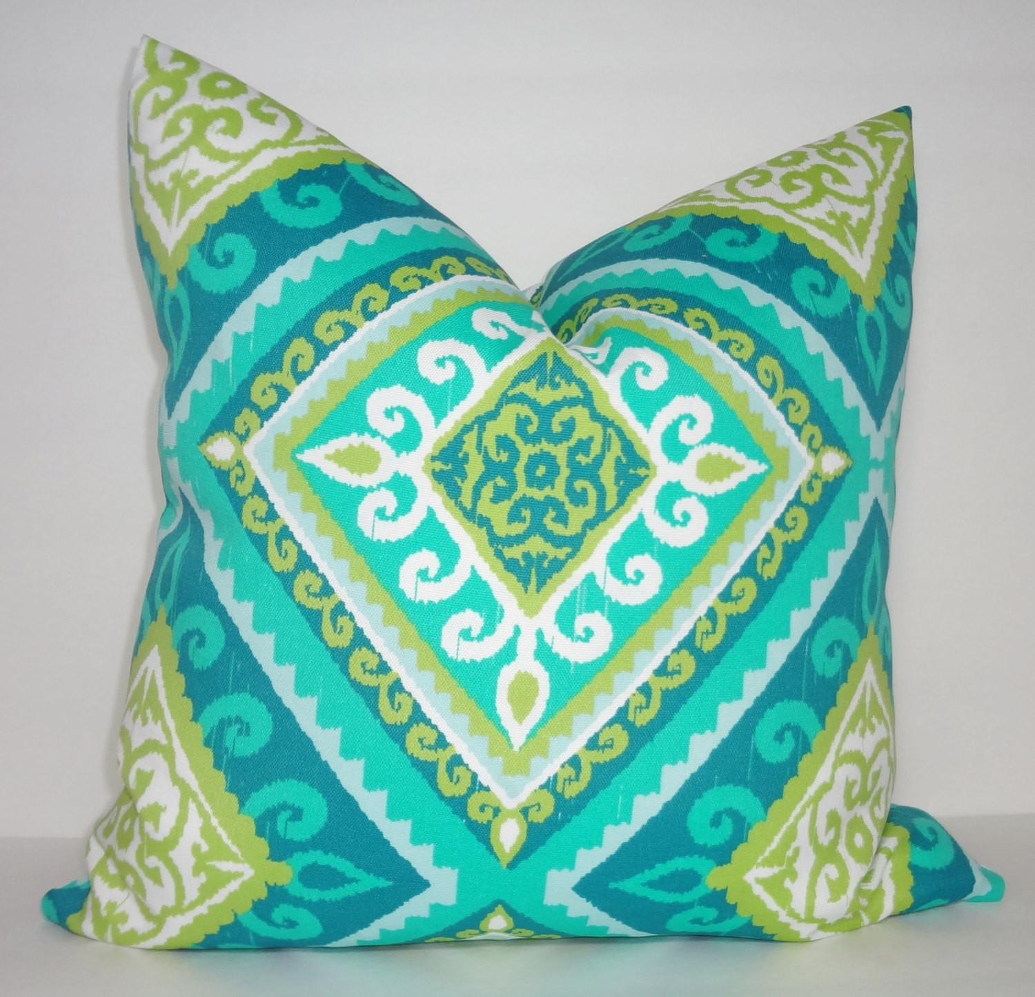 Outdoor Turquoise Blue Green Citrine Diamond Print
