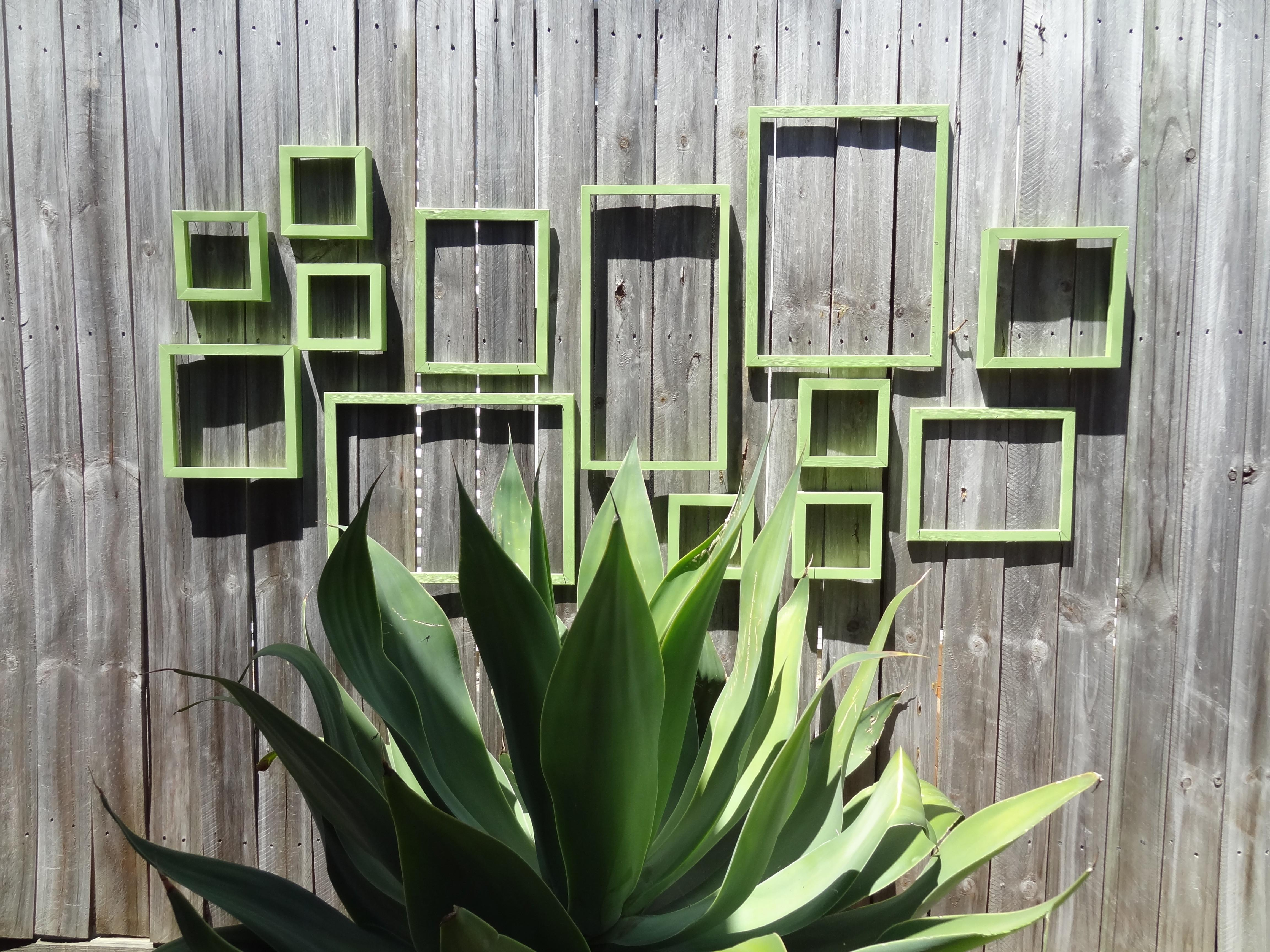 Outdoor Wall Art Frame Collage There Crooked House