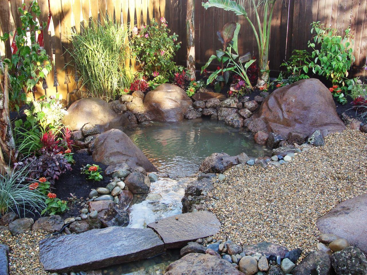 Outdoor Water Features Diy Shed Pergola Fence Deck
