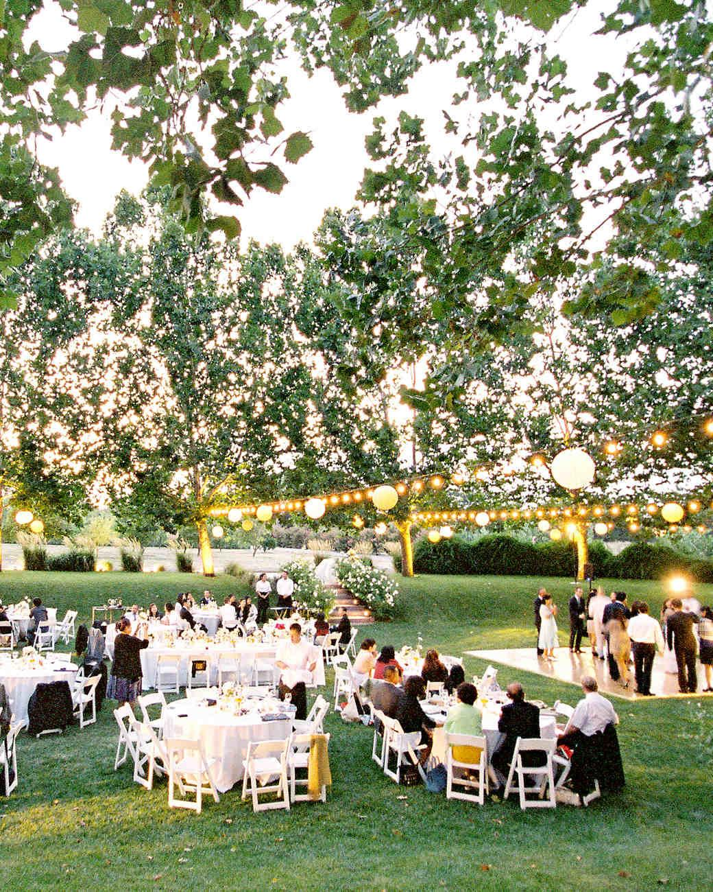 Outdoor Wedding Lighting Ideas Real Celebrations