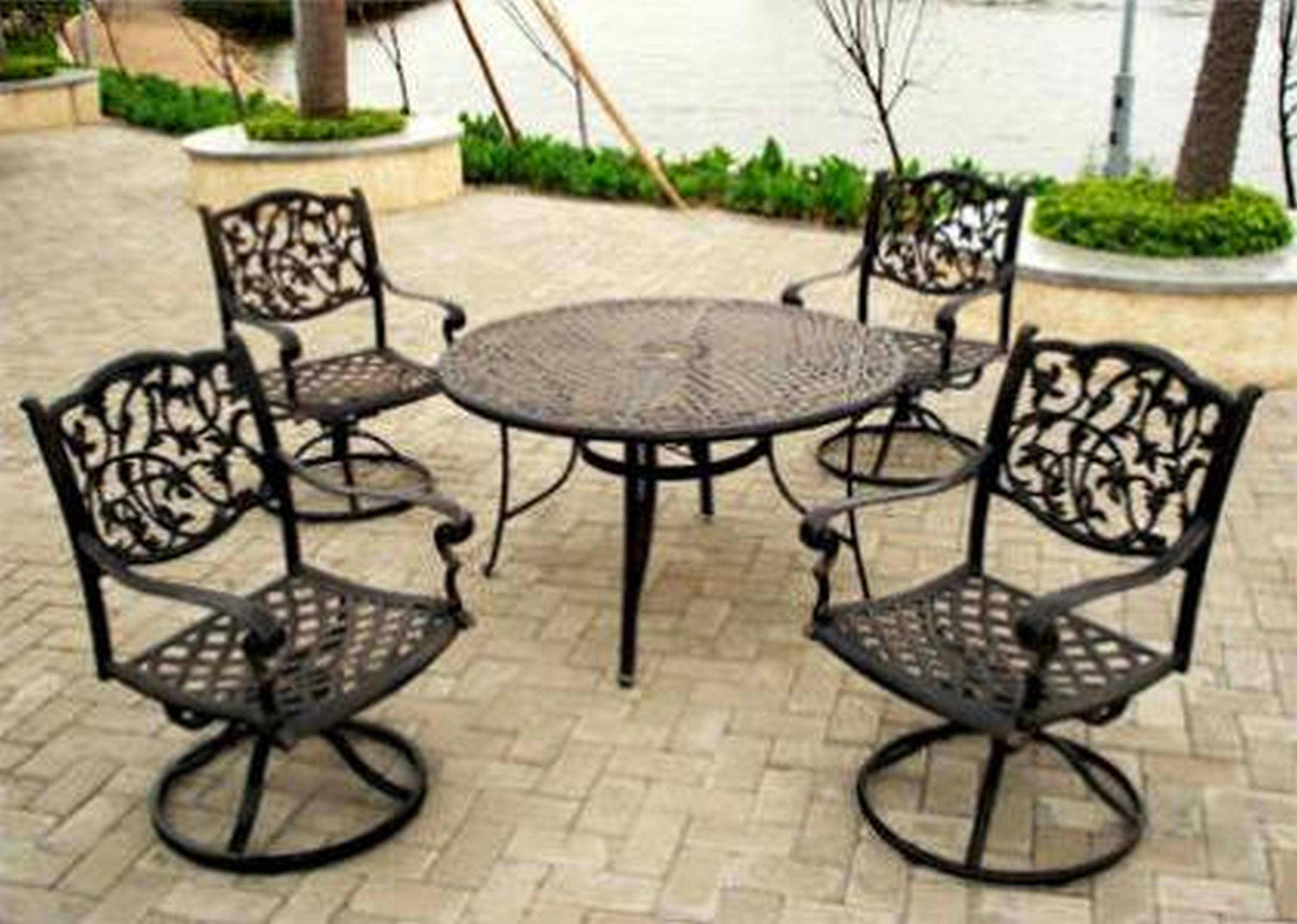 Outdoor Wrought Iron Patio Furniture Carehouse Info