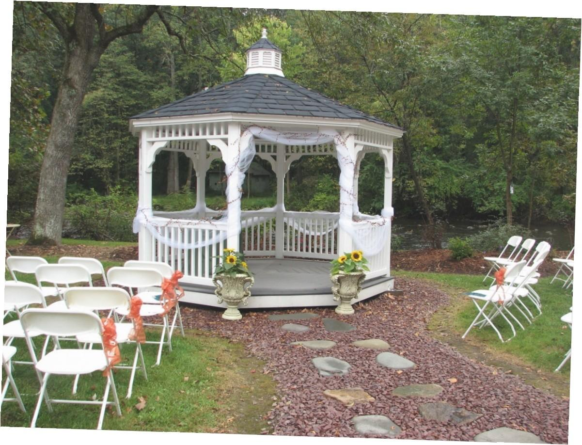 Outside Gazebo Wedding Decoration Ideas