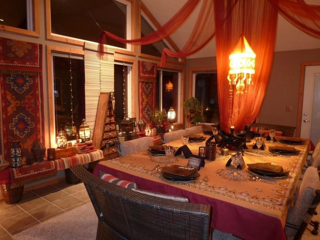Outstanding Moroccan Dining Room Designs Frenzie