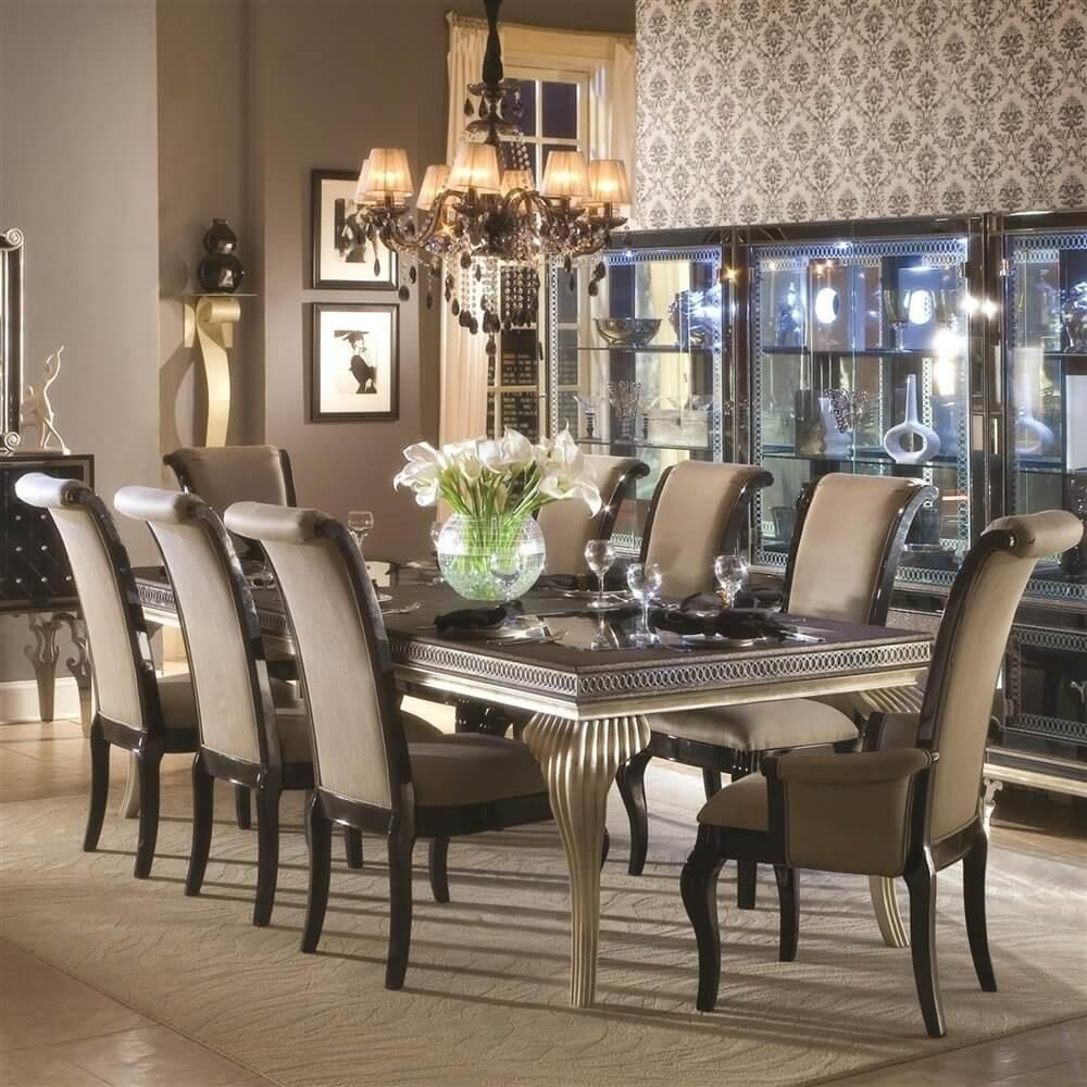 Outstanding Transitional Dining Room Suitable Any Home
