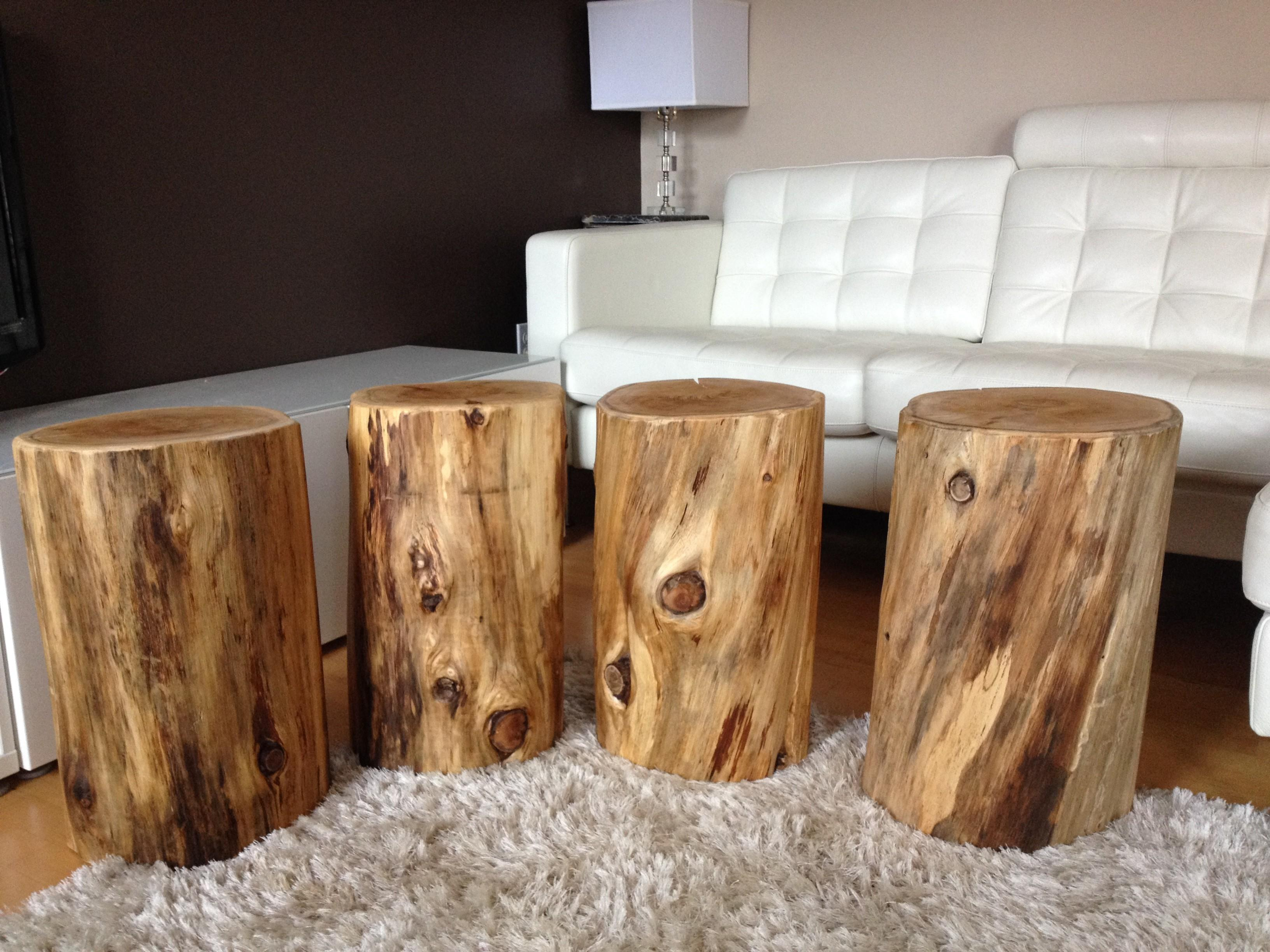 Outstanding Tree Stump Stool 118 Trunk