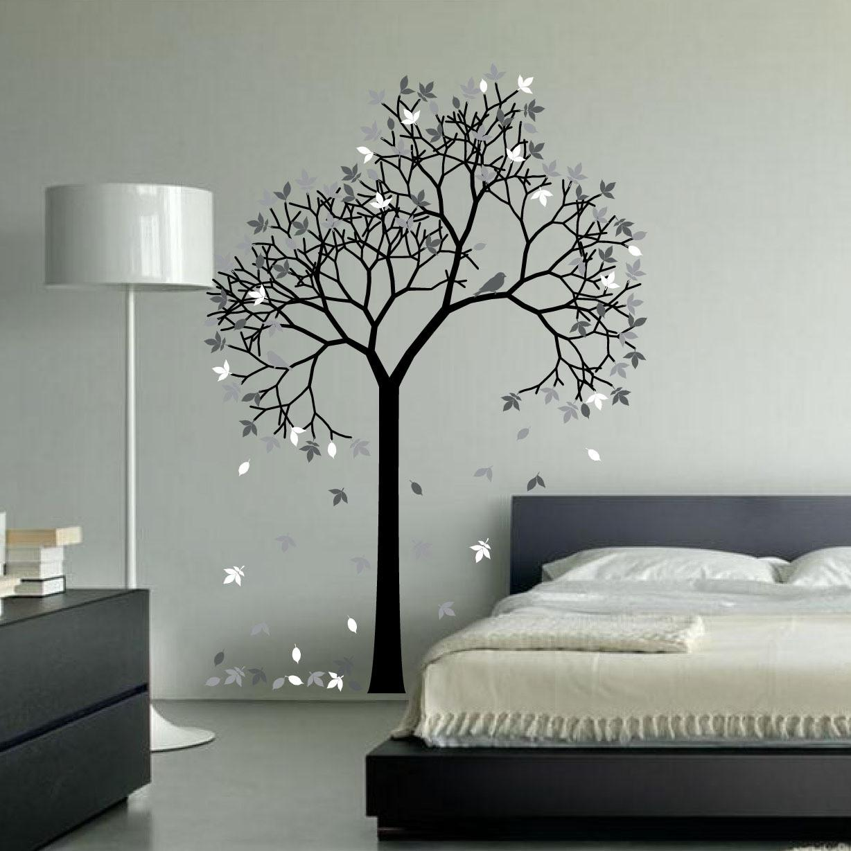 Outstanding Tree Wall Decal Ideas Modern Home Interior