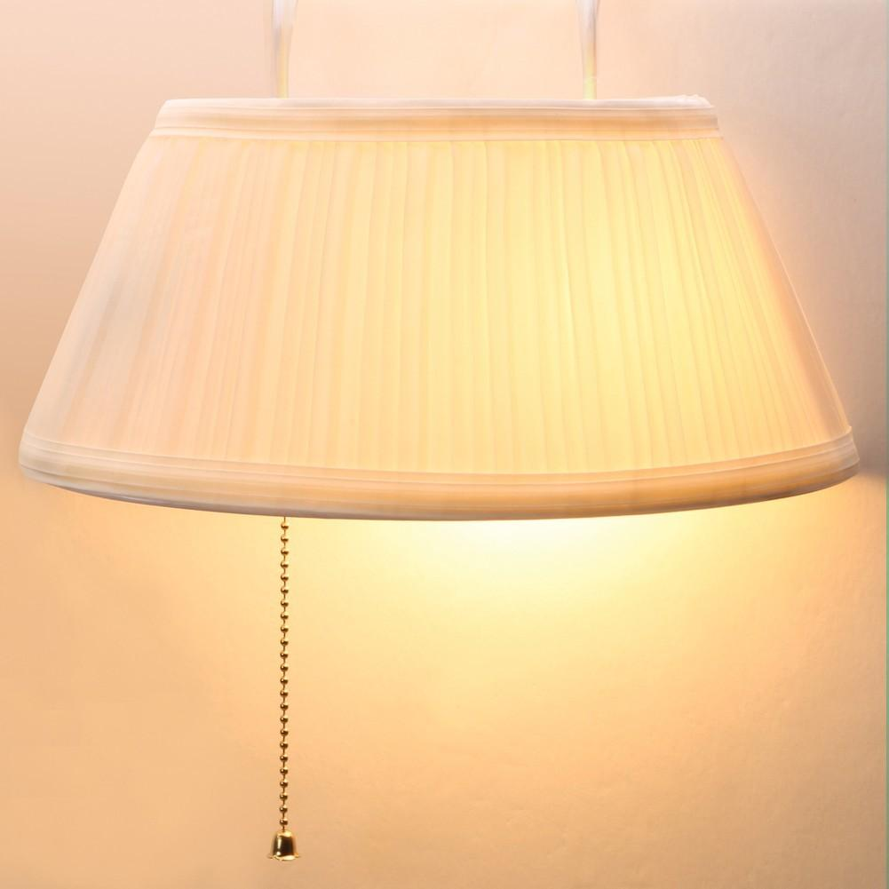 Over Headboard Hanging Bed Reading Lamp