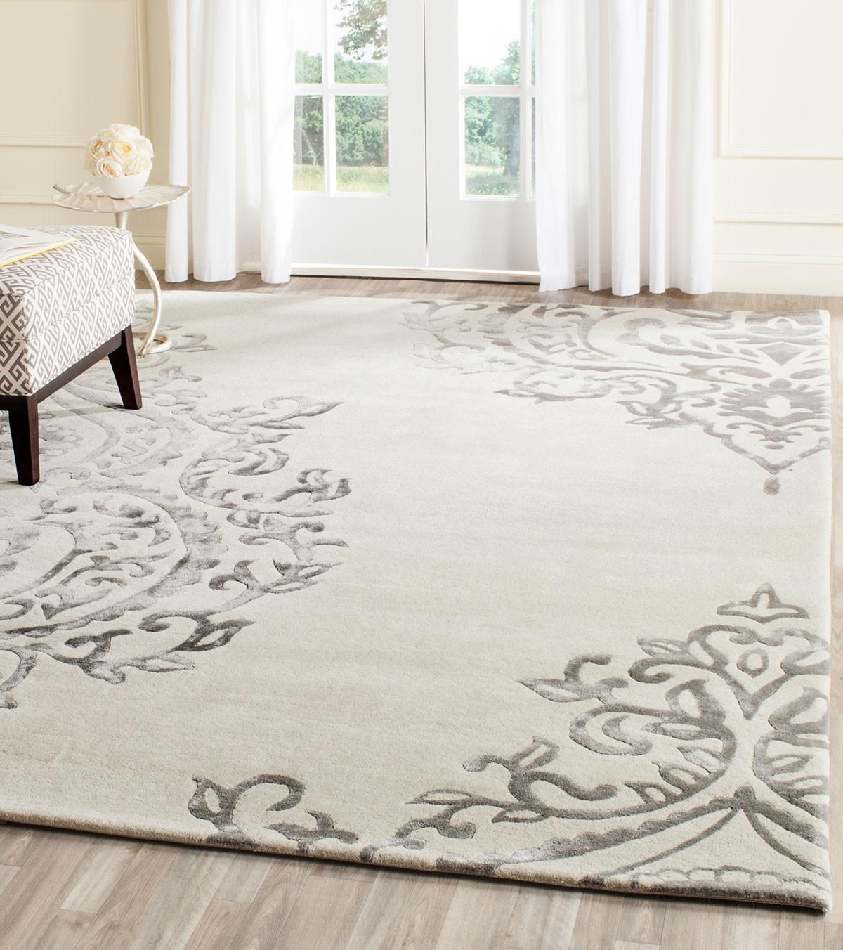 Oversized Area Rugs Wool Unique Decoration