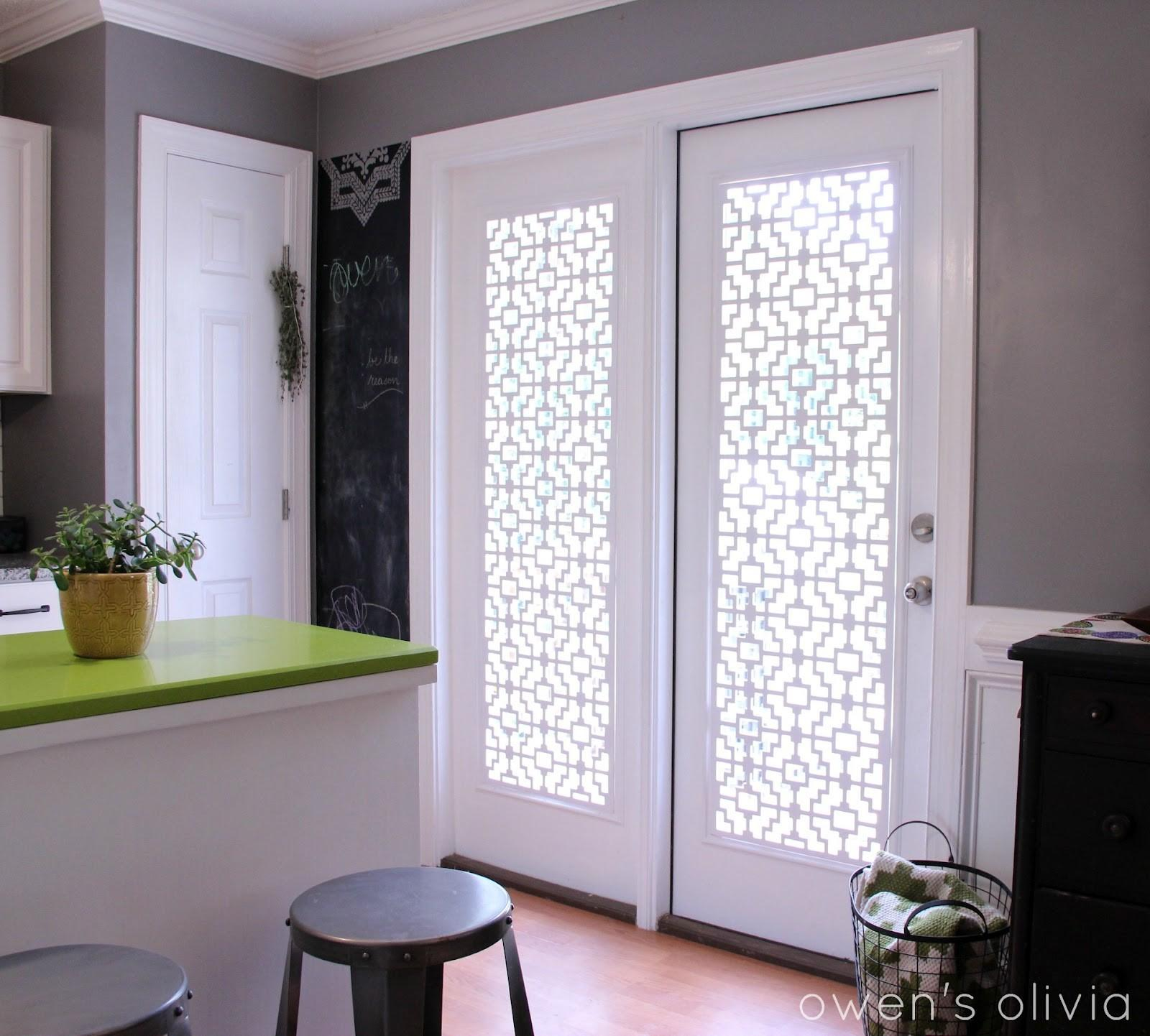 Owen Olivia Custom Window Treatments Using Pvc