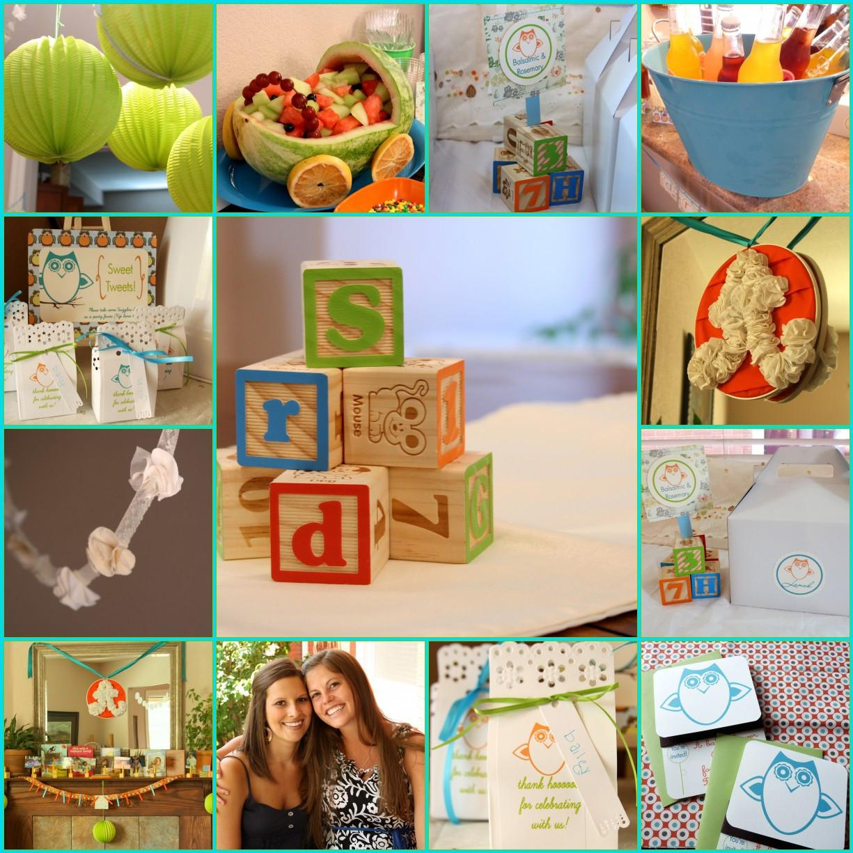 Owl Baby Shower Decorations Party Favors Ideas