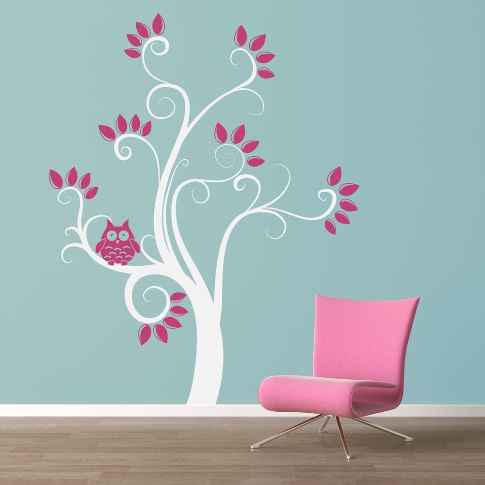Owl Tree Wall Decal Quotes
