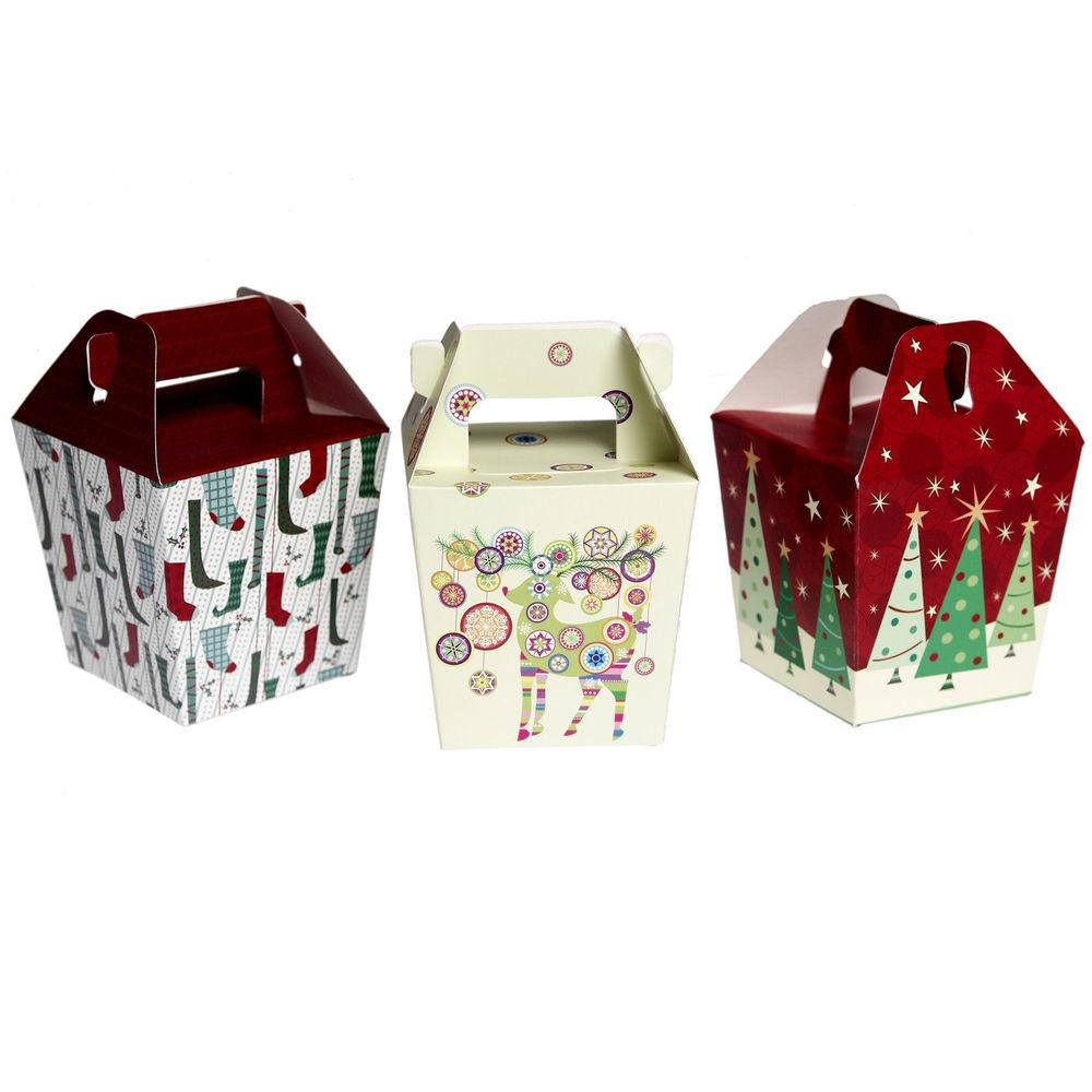Pack Boxes Christmas Panettone Folding