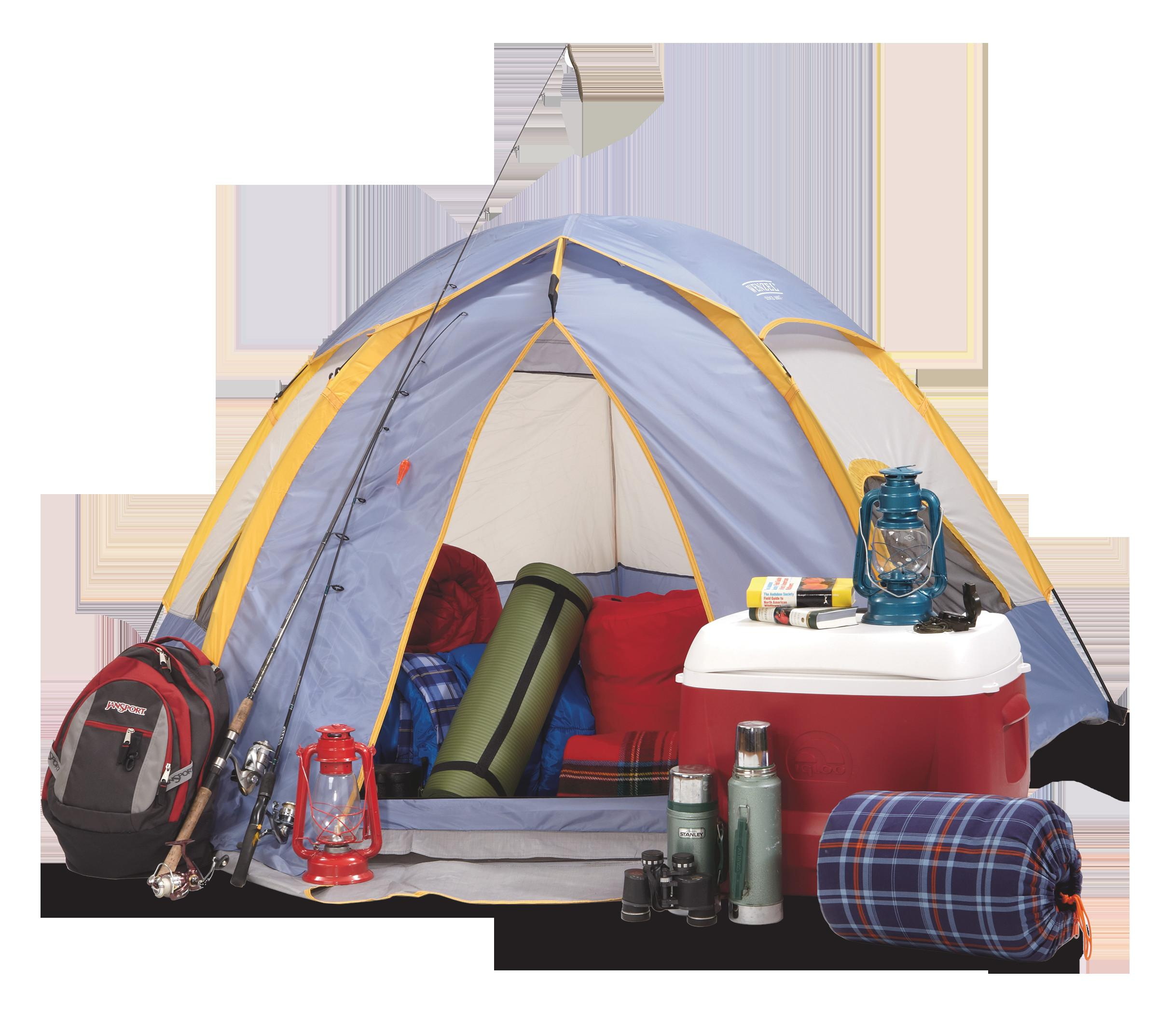Pack Camping Home Here