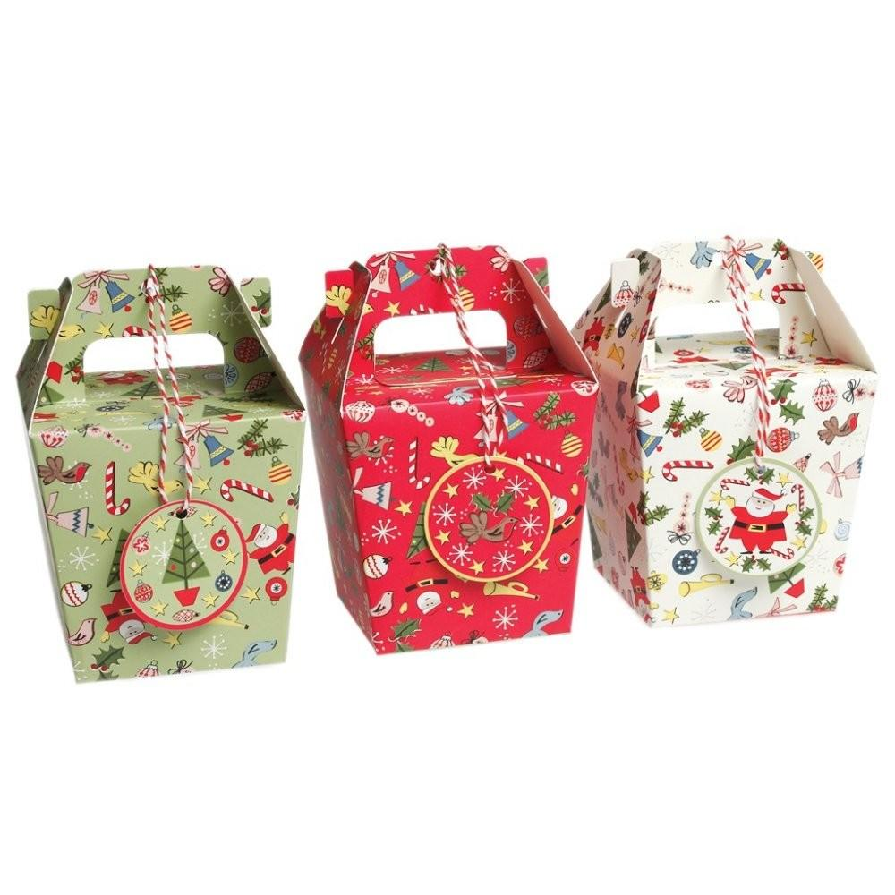 Pack Panettone Christmas Gift Boxes Mollie