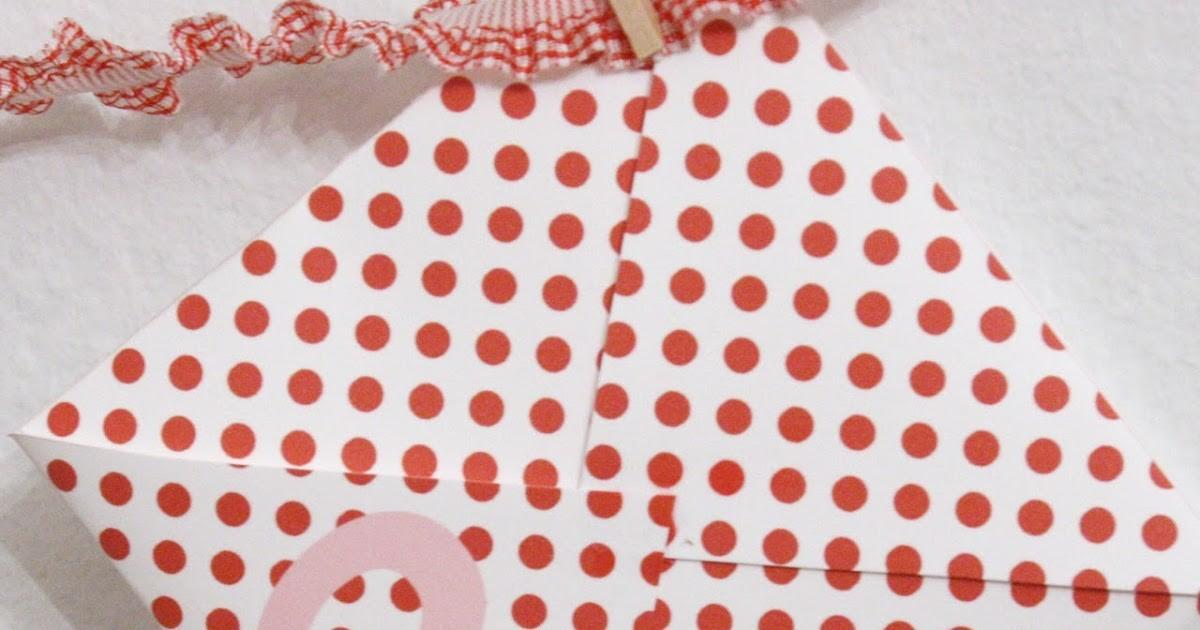 Paiges Style Diy Valentine Advent Calendar Counting