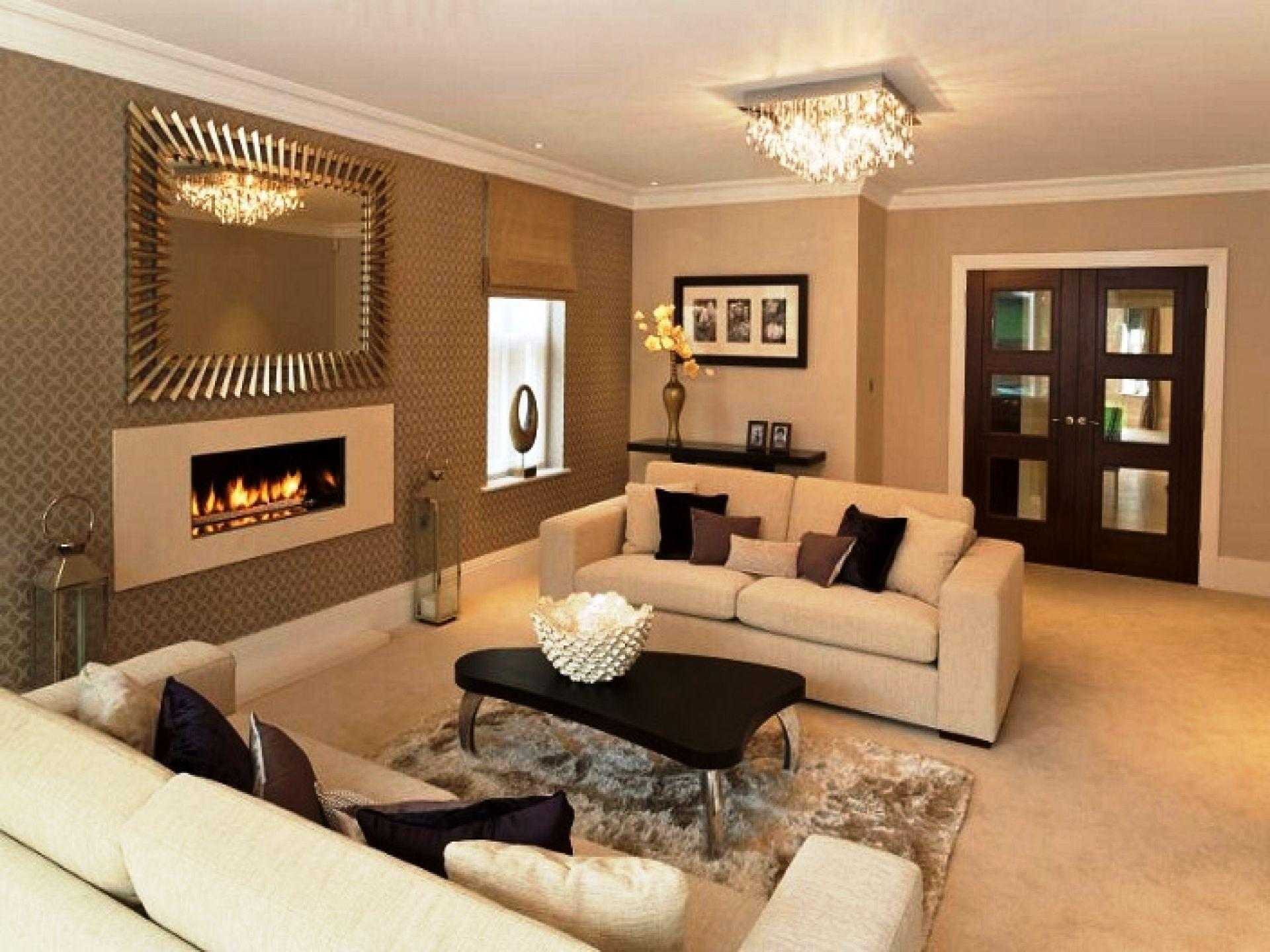 Paint Dark Brown Colors Living Room Ideas