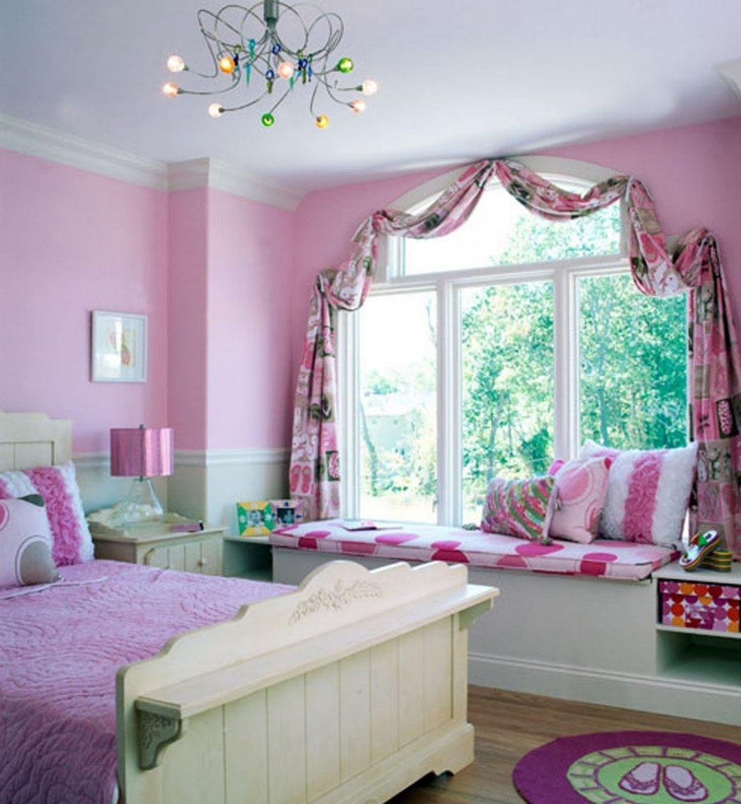 Paint Ideas Girls Bedroom Combination White