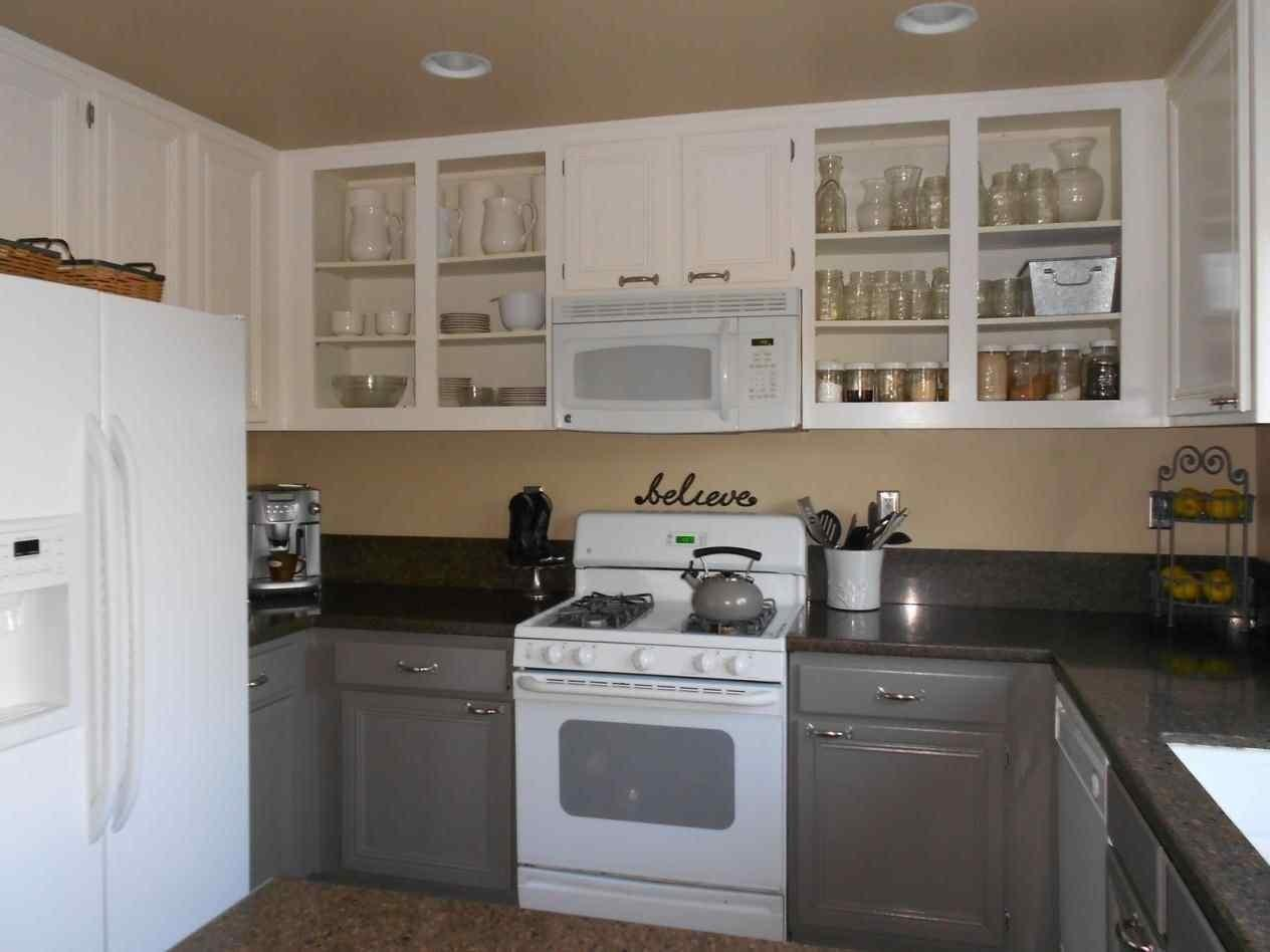 Paint Kitchen Cabinets Before After Kapan Date