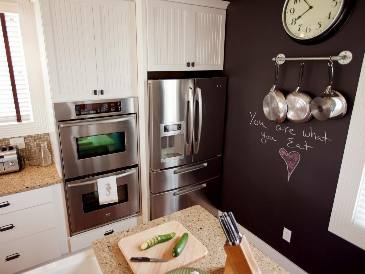Paint Kitchen Chalkboard Wall Tos Diy