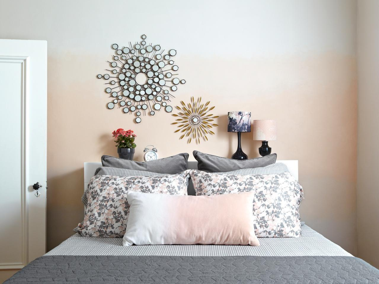 Paint Ombre Accent Wall Tos Diy