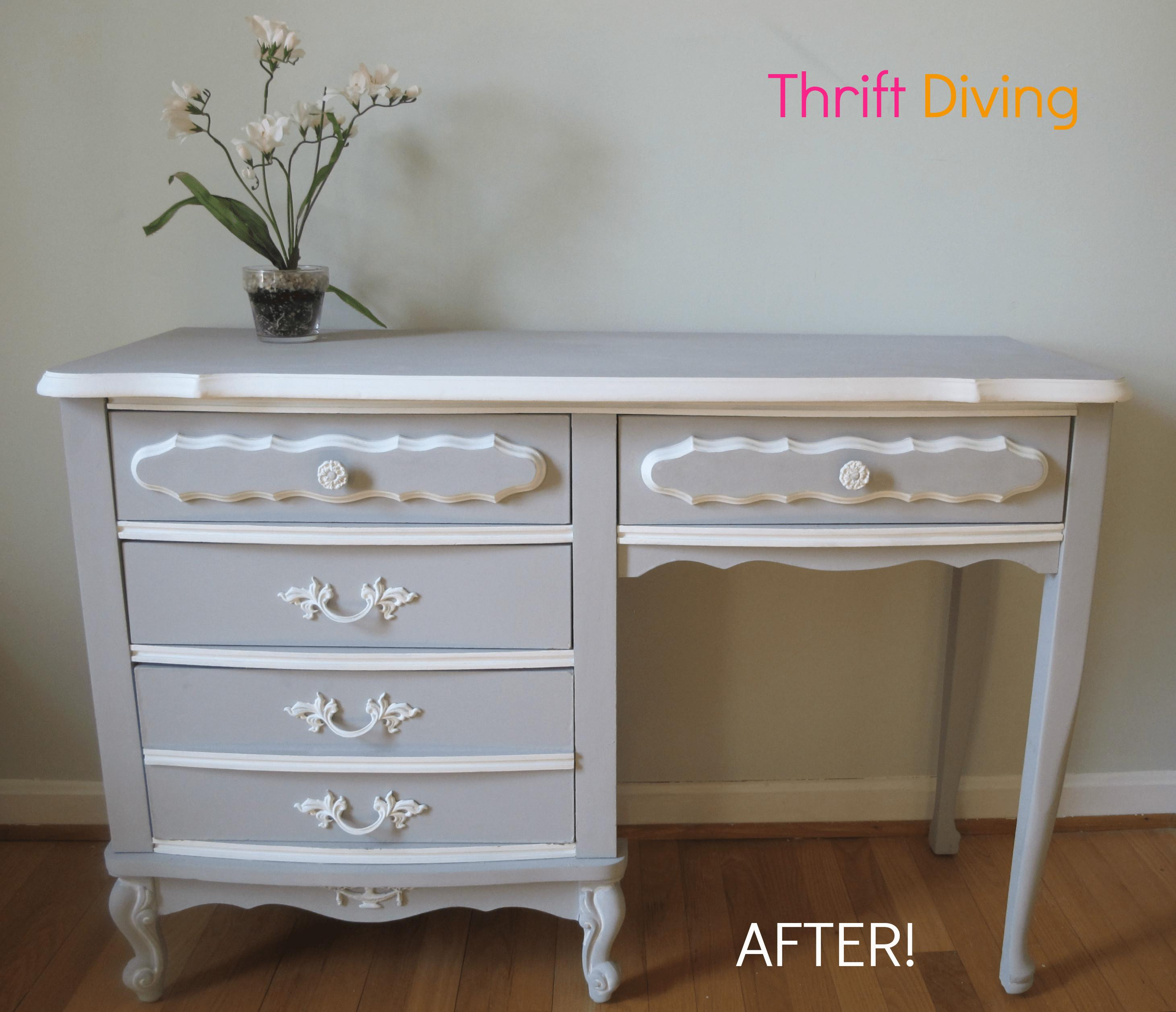Paint Your Old French Provincial Furniture