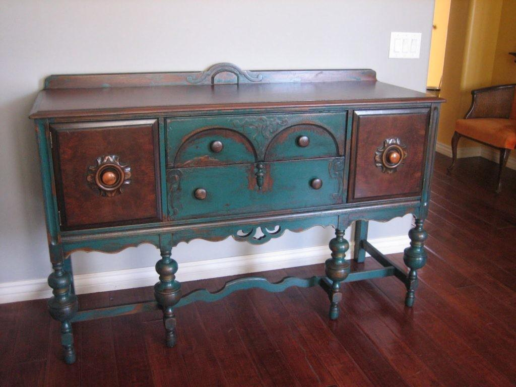 Painted Buffet Sideboard Shabby Chic Furniture
