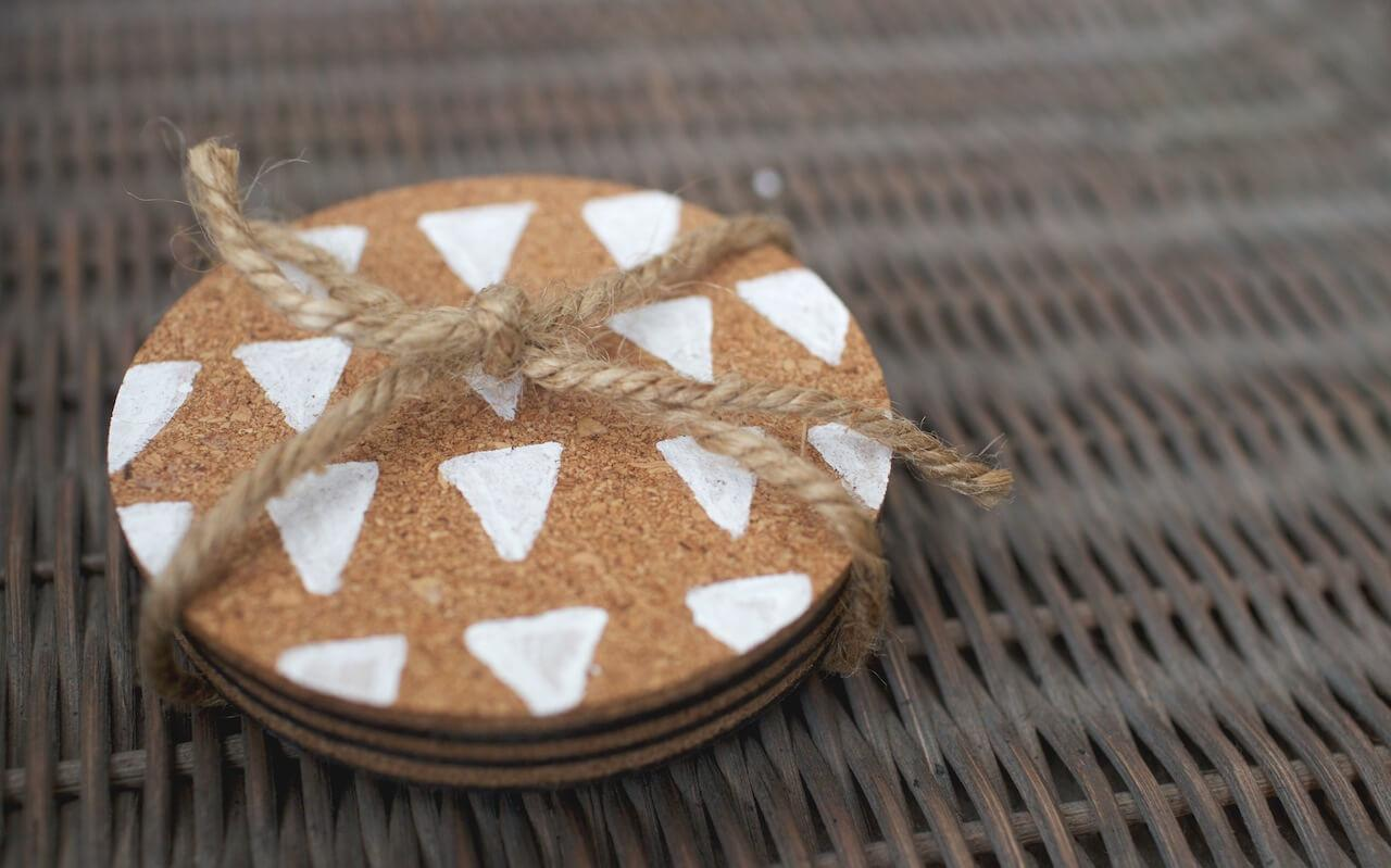 Painted Cork Coasters Gimme Some Oven