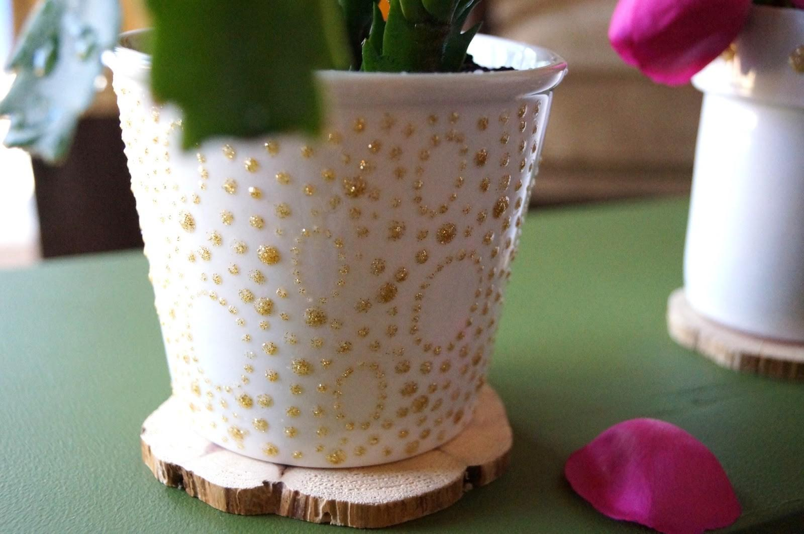 Painted Flower Pots Guide Patterns