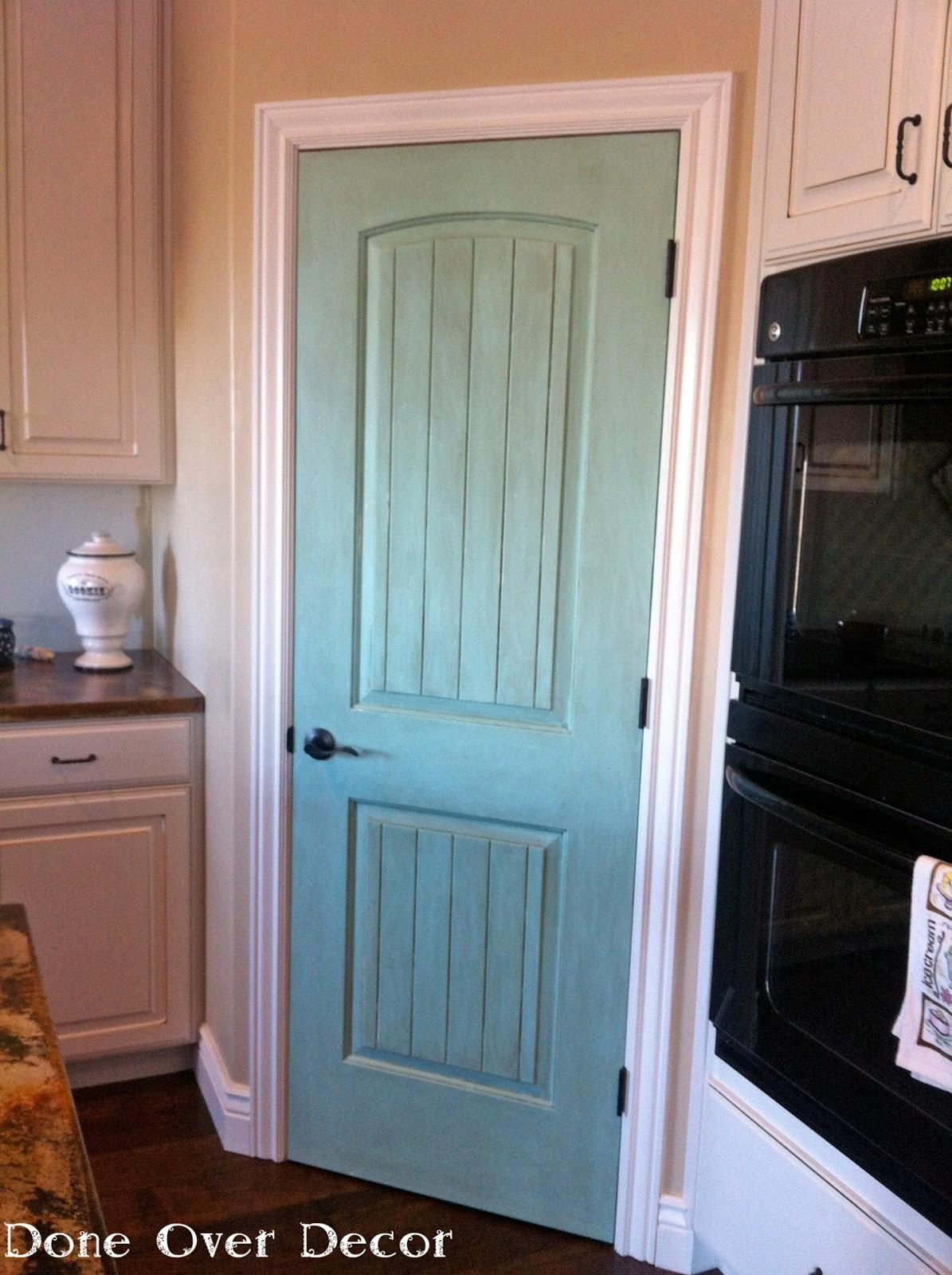 Painted Nest House Project Pantry Door