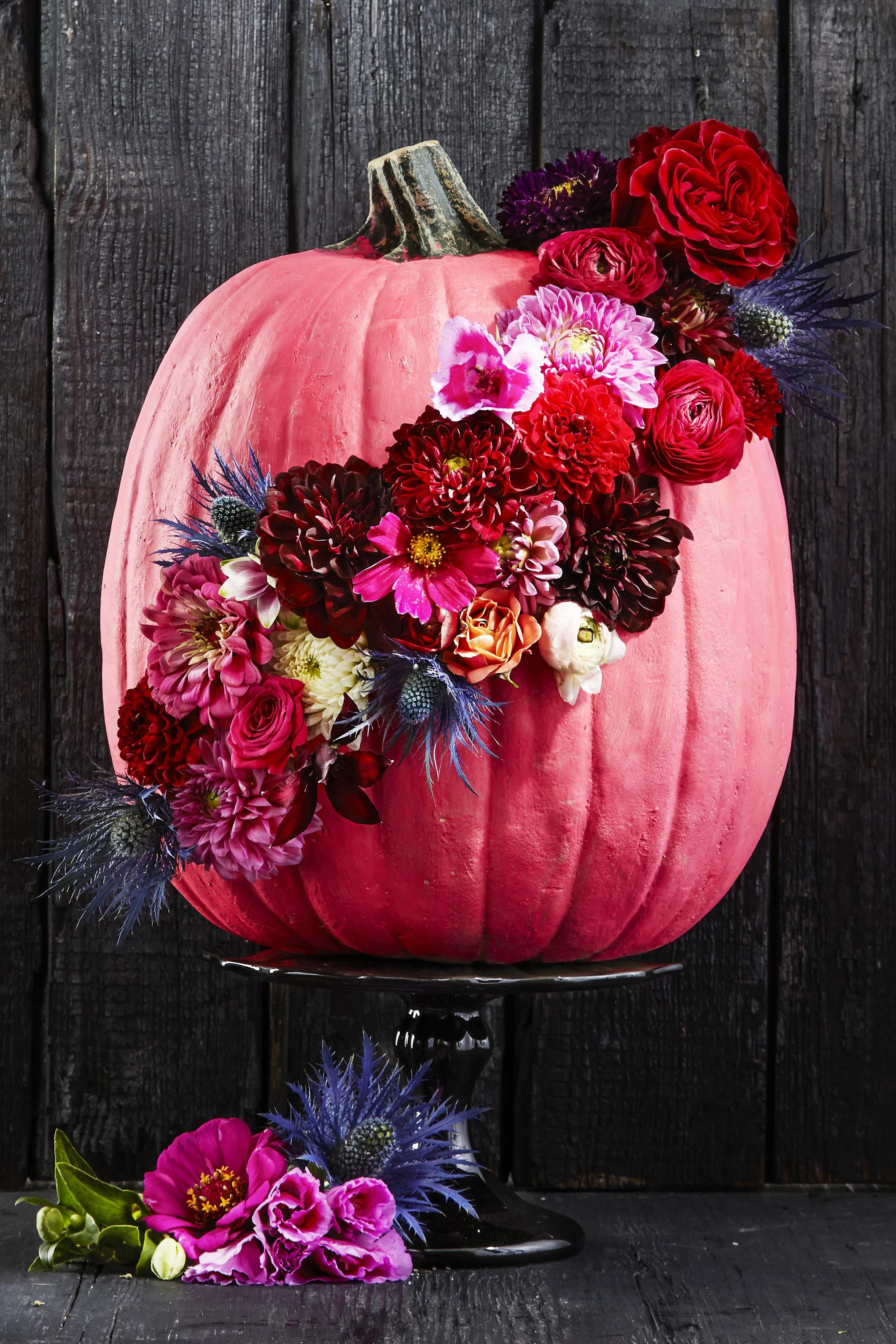 Painted Pumpkin Decorating Ideas Halloween 2017