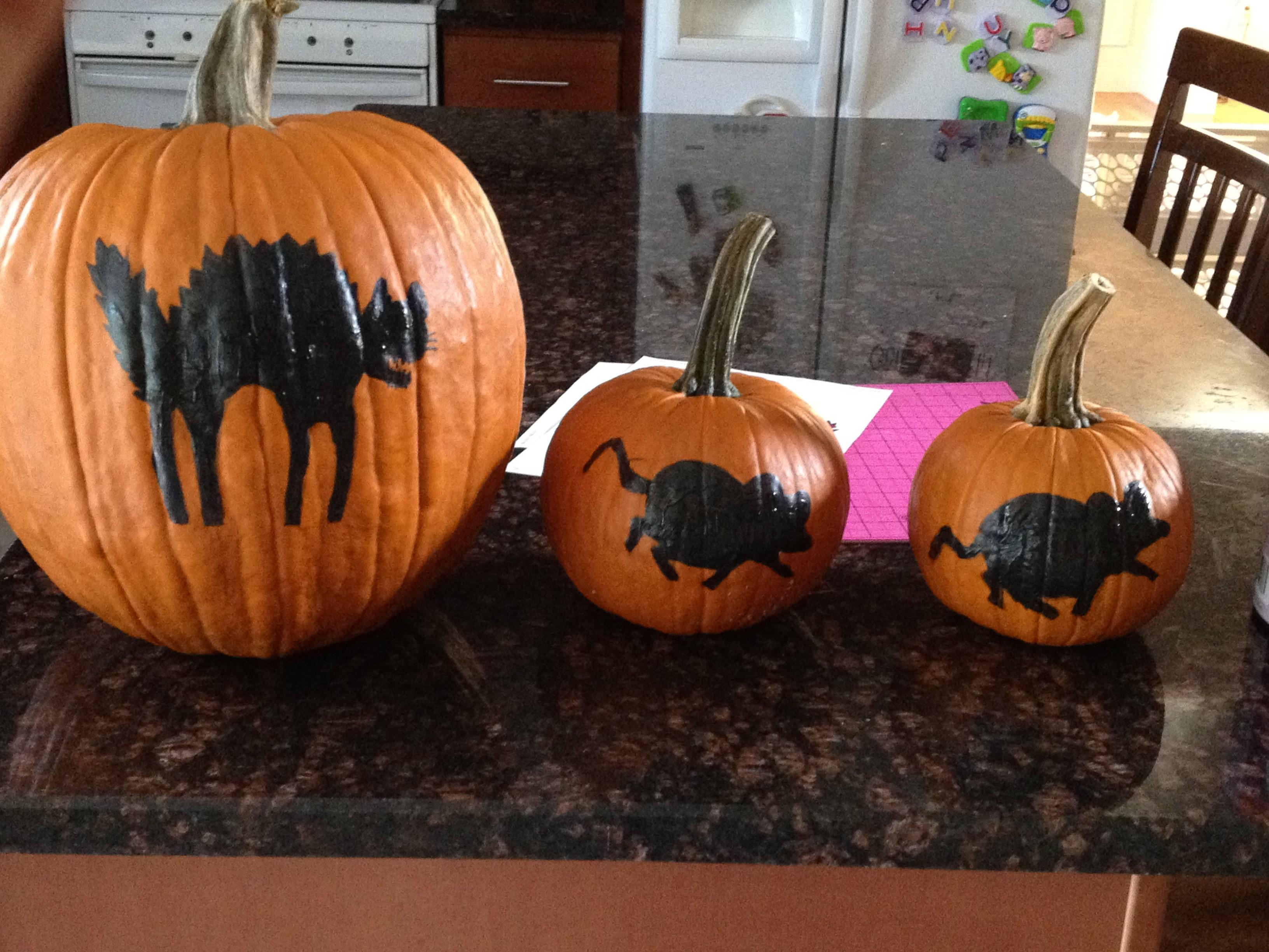 Painted Pumpkin Ideas Laughtard