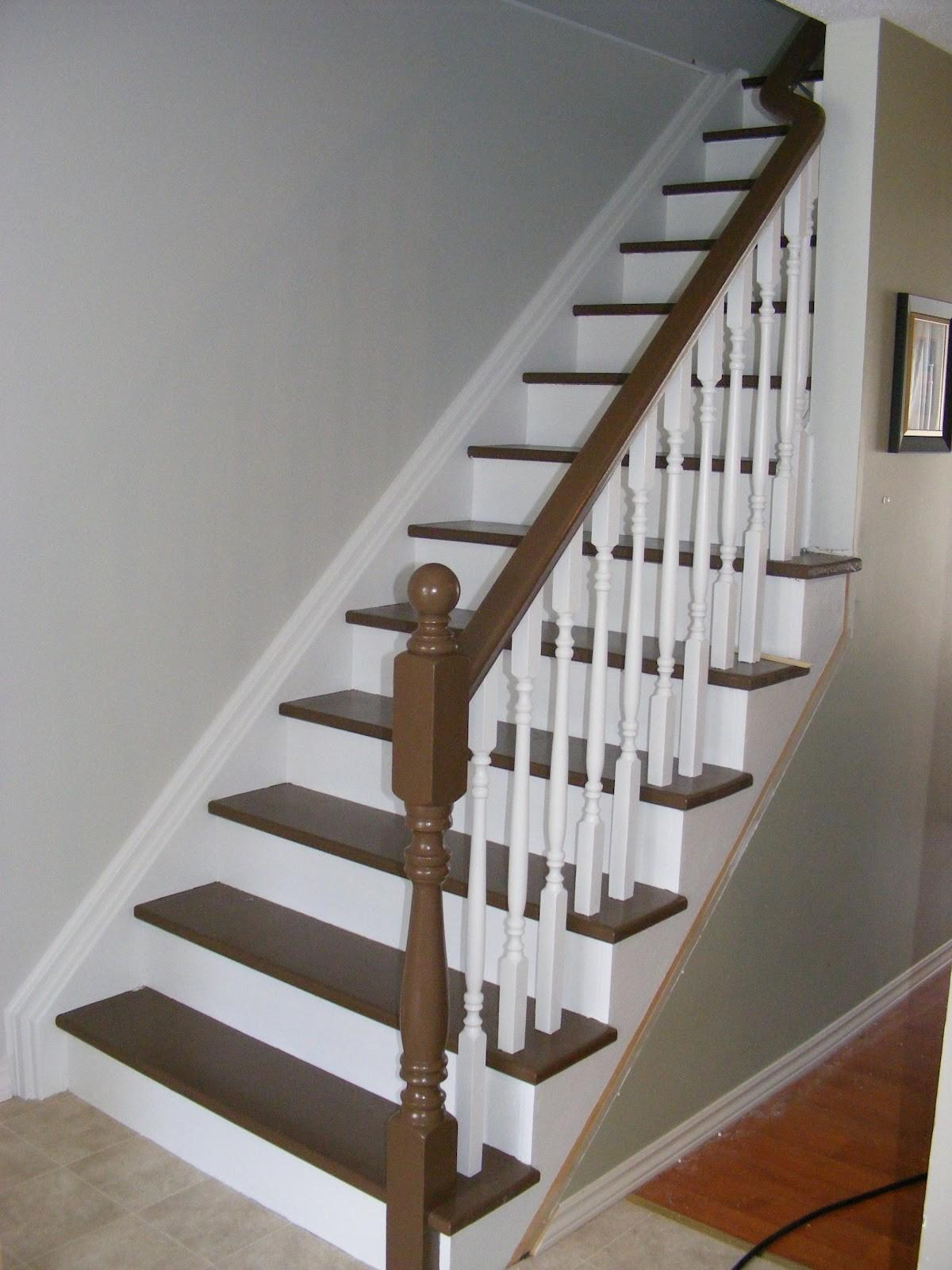 Painted Stair Risers Pattern Color